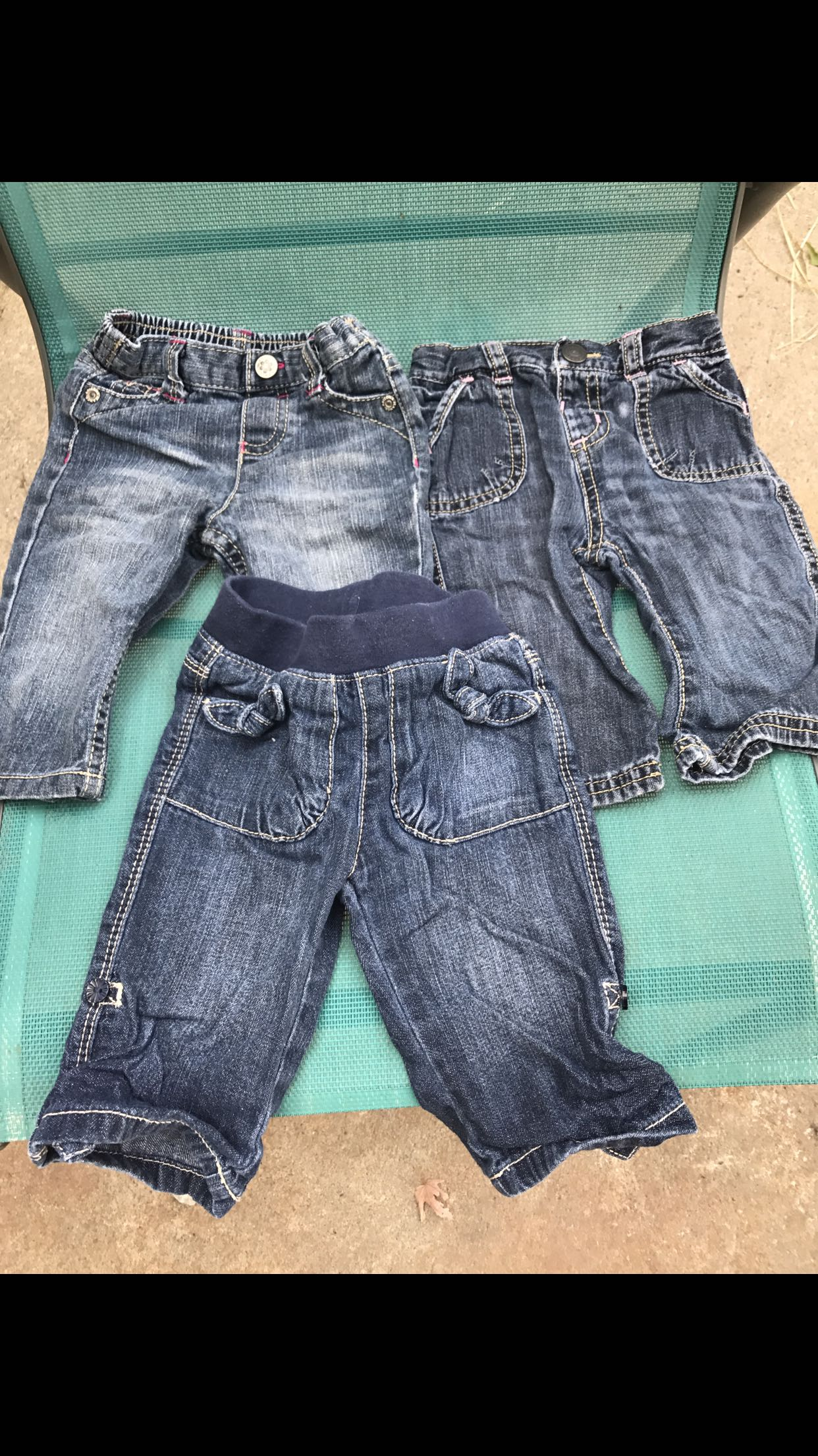 3-6 month baby girl jeans
