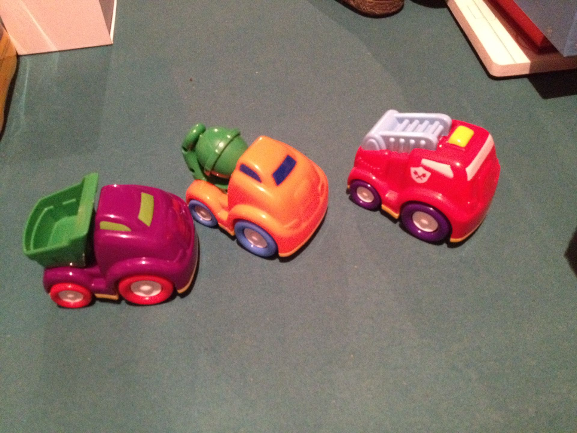3 vehicles