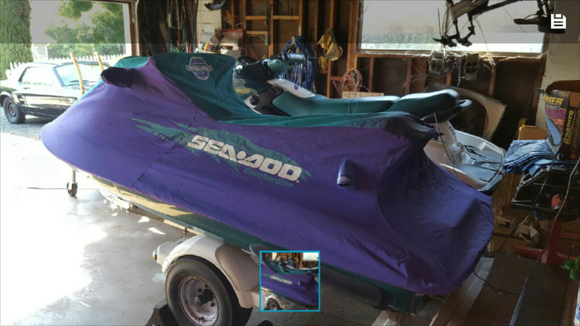 Seadoo 1997 GTX W/RUNNER COVER