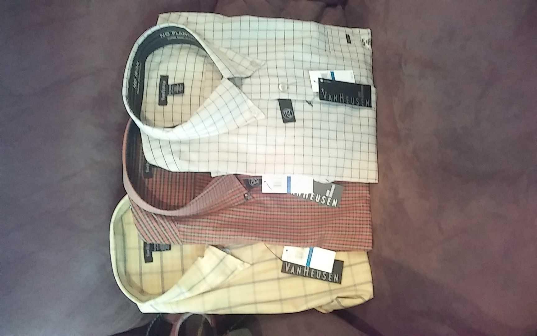 Van Heusen long sleeve dress shirts