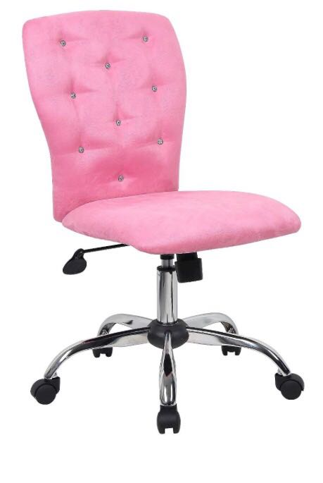 Microfiber Task Chair with Tufting