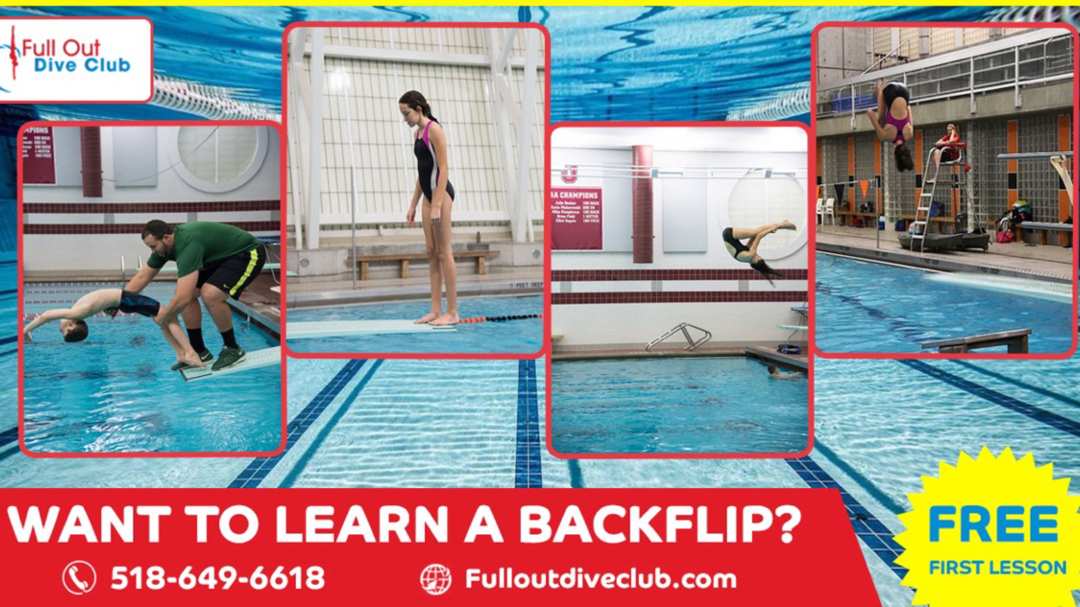 Olympic Springboard Diving Lessons