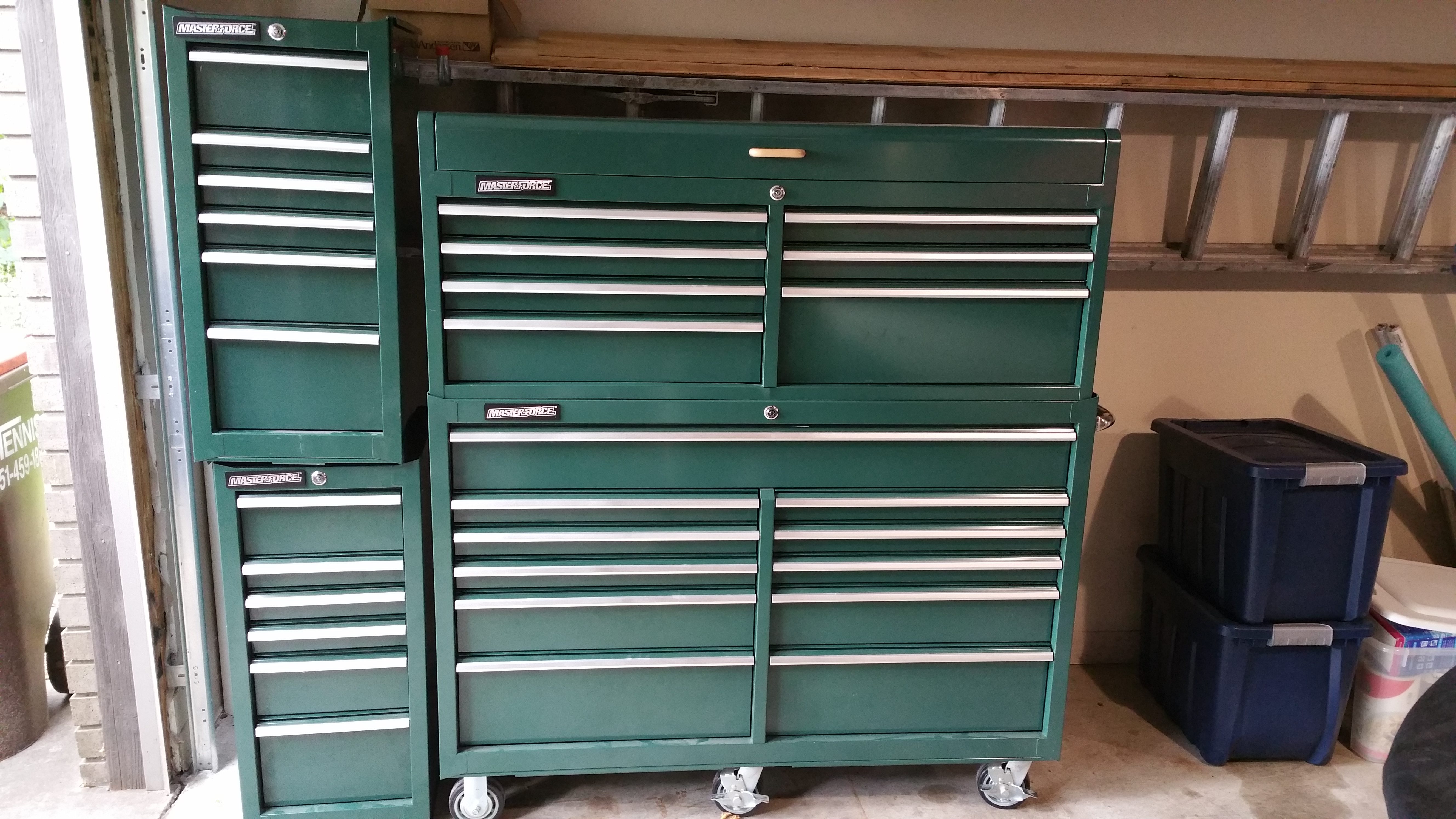 Masterforce Tool Chest And cabinets