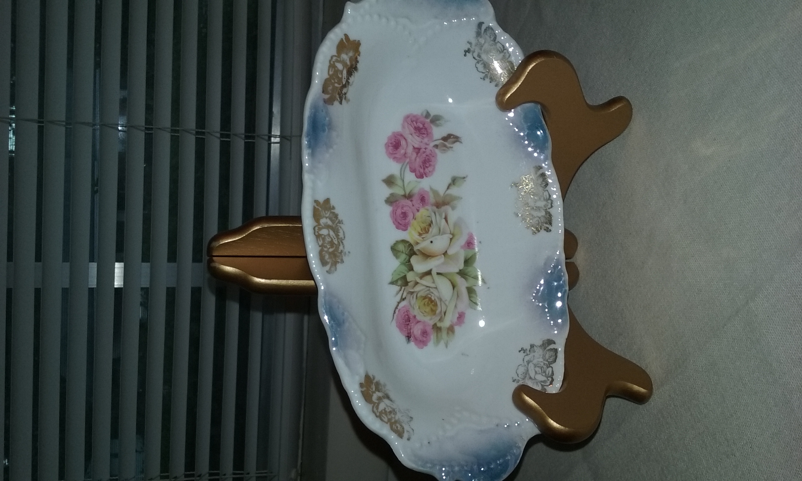 Antique Dish Oval Germany