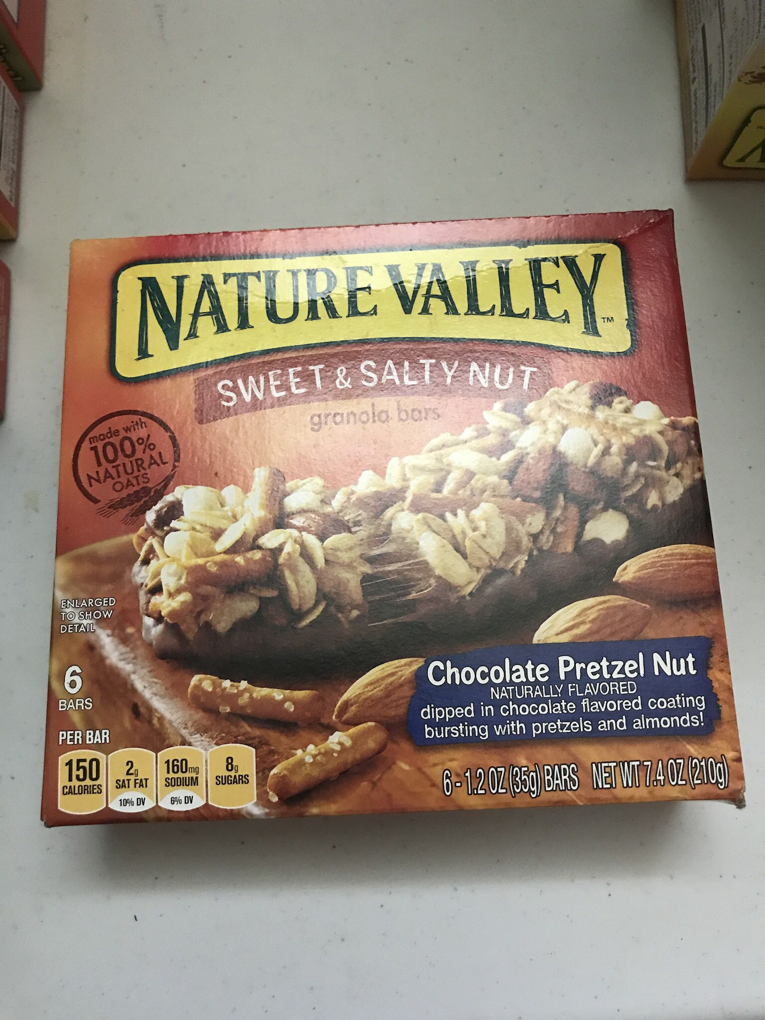 Nature valley granola bars (only have 2)