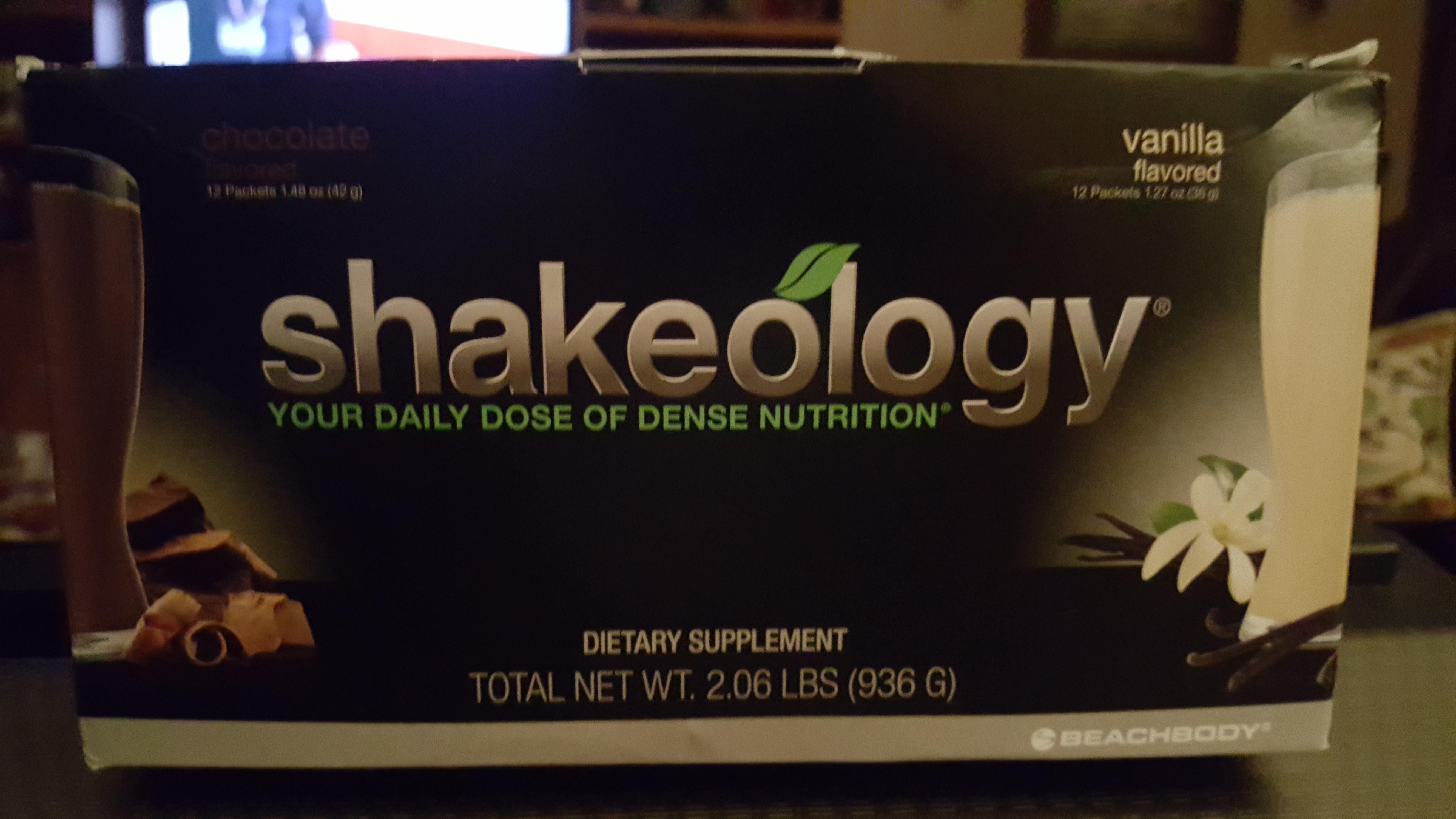 Shakeology Shakes (9 Vanilla and 11 Chocolate ) in a box $ 95.00