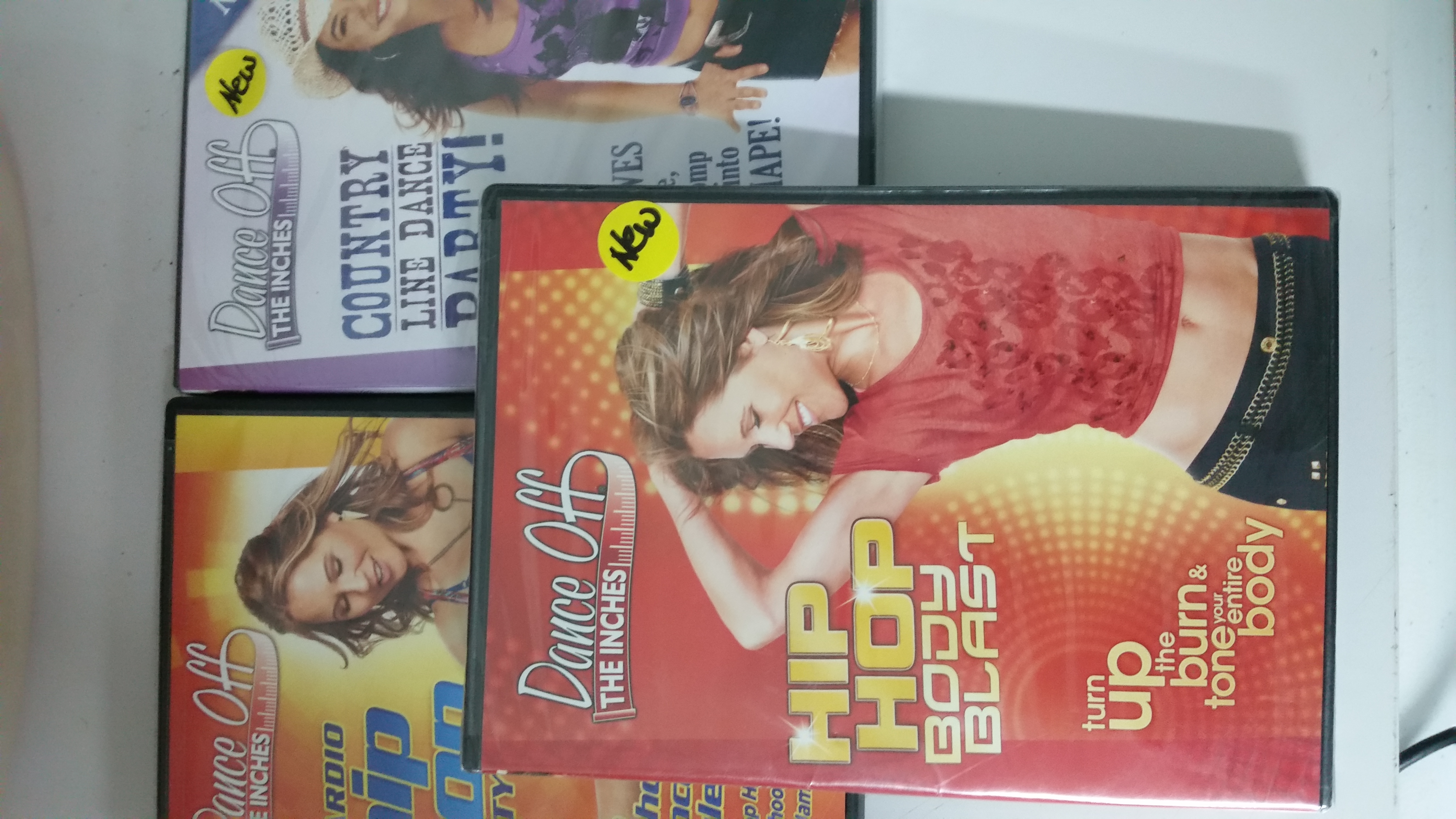 3 Dance Off the Inches Workout DvD's