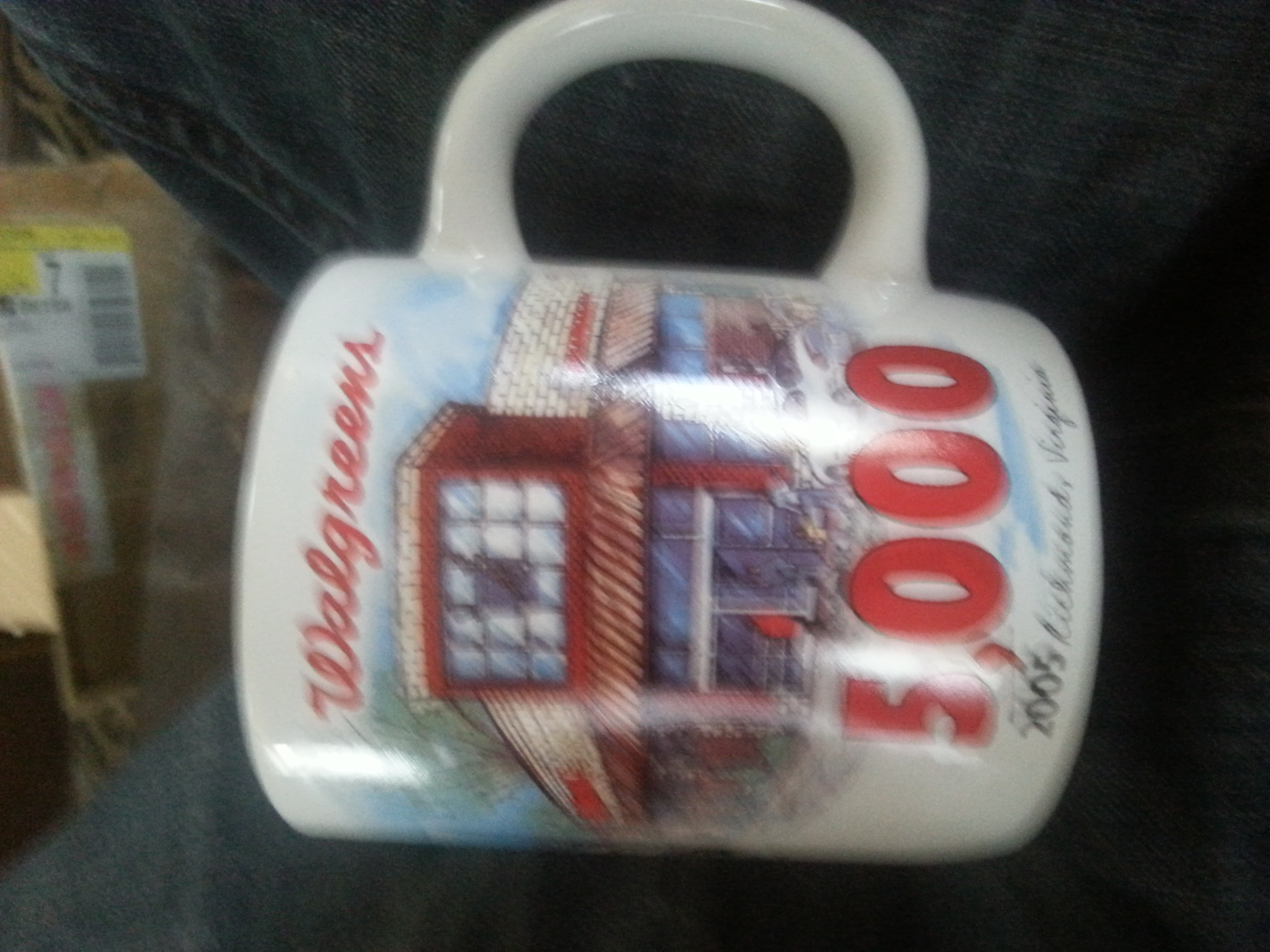 Three Walgreens commemorable mugs