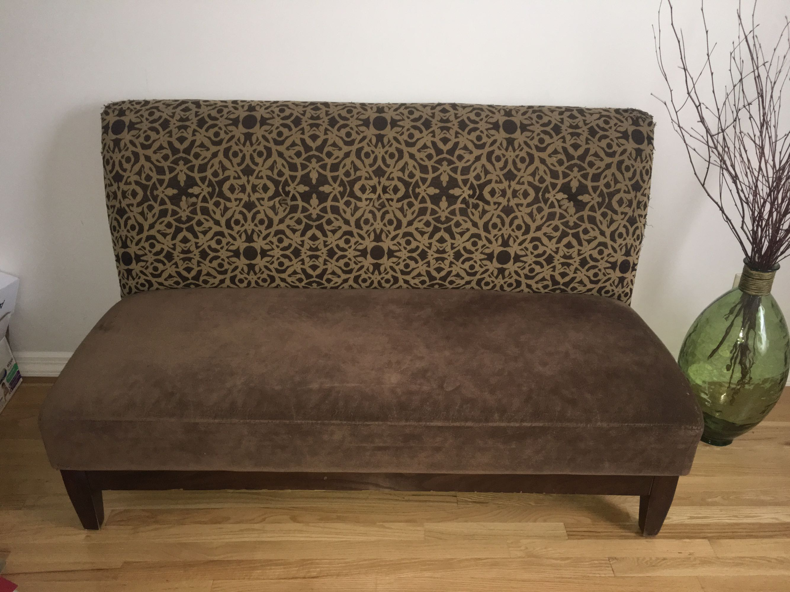Small love seat