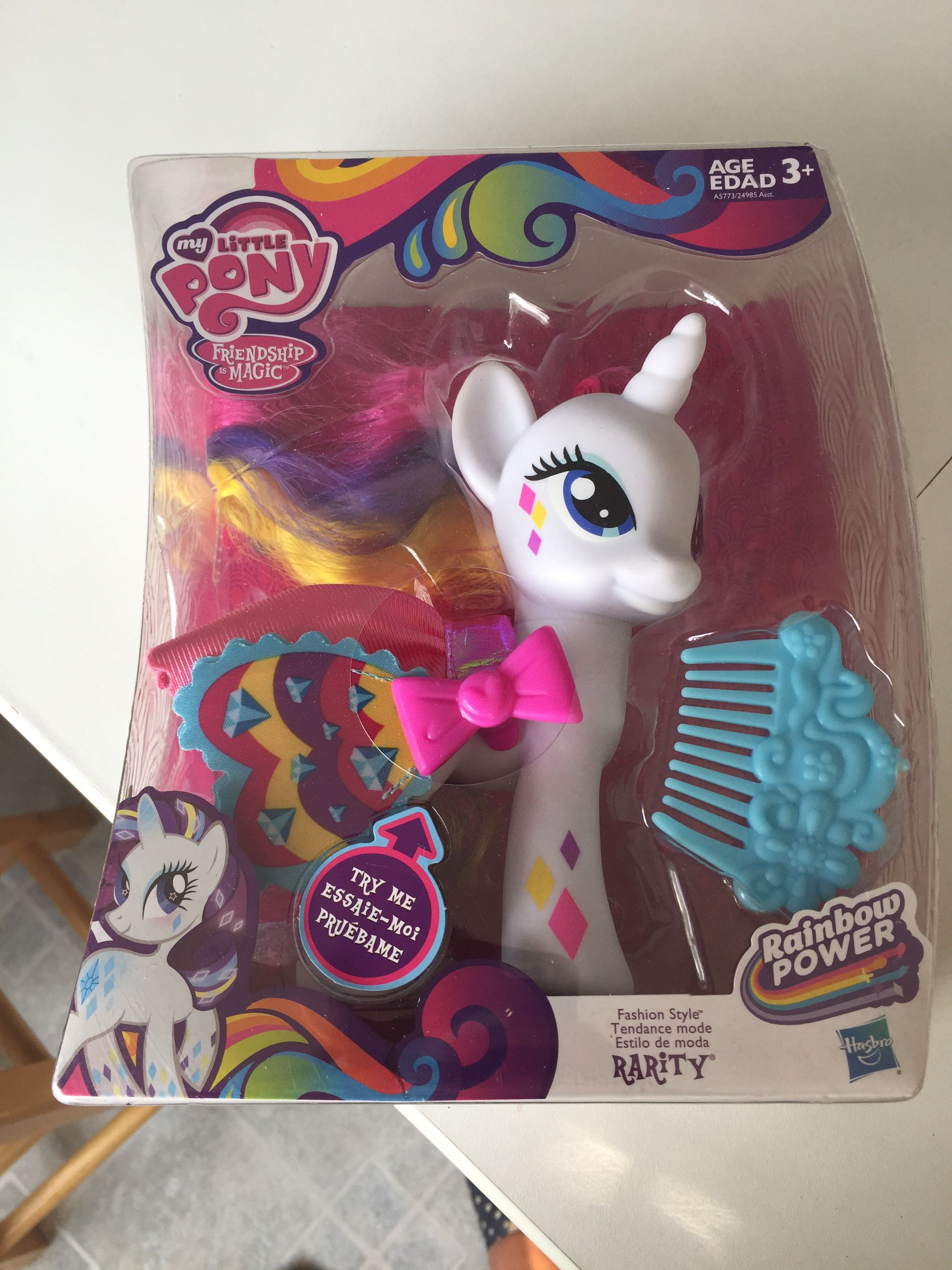 My Little Pony Friendship is Magic toy