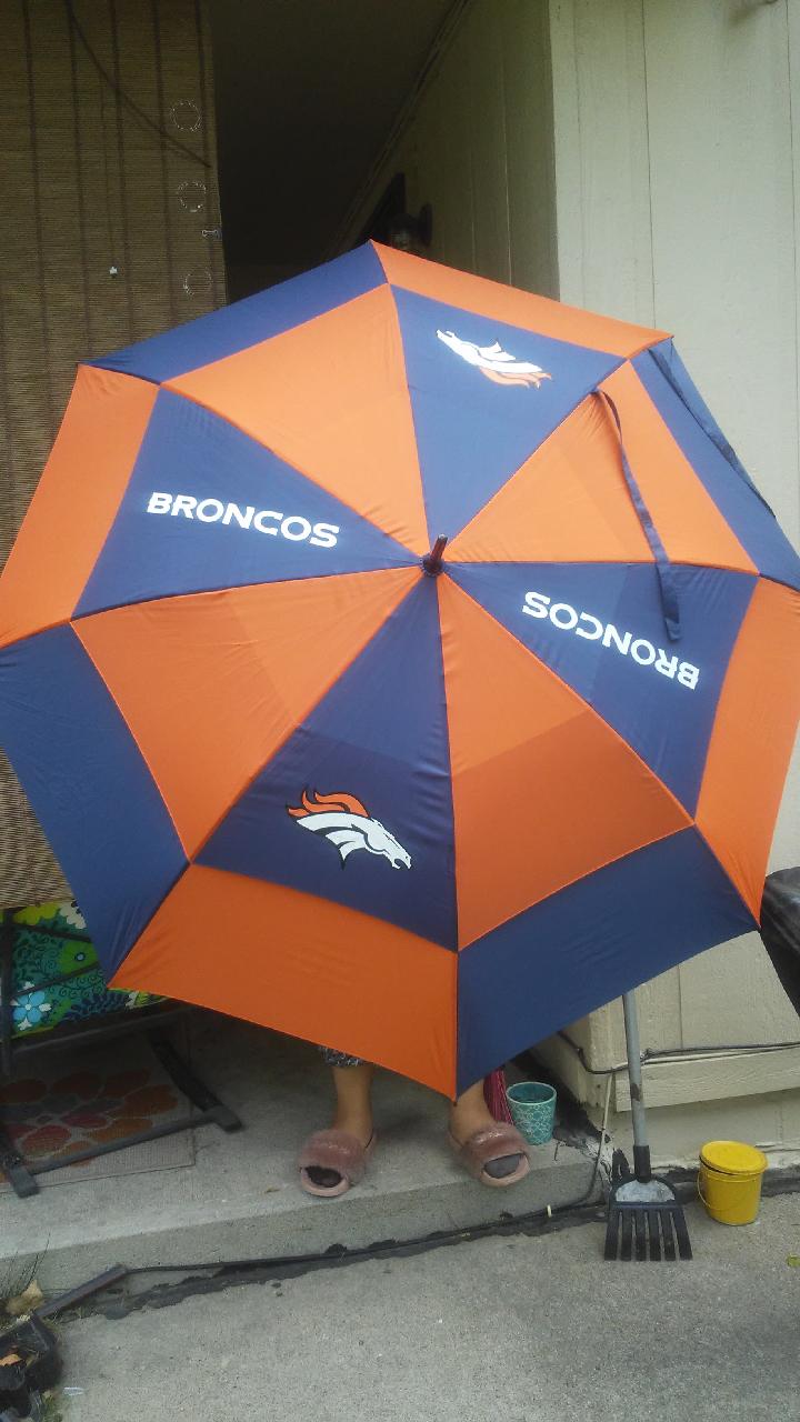 Bronco umbrella .
