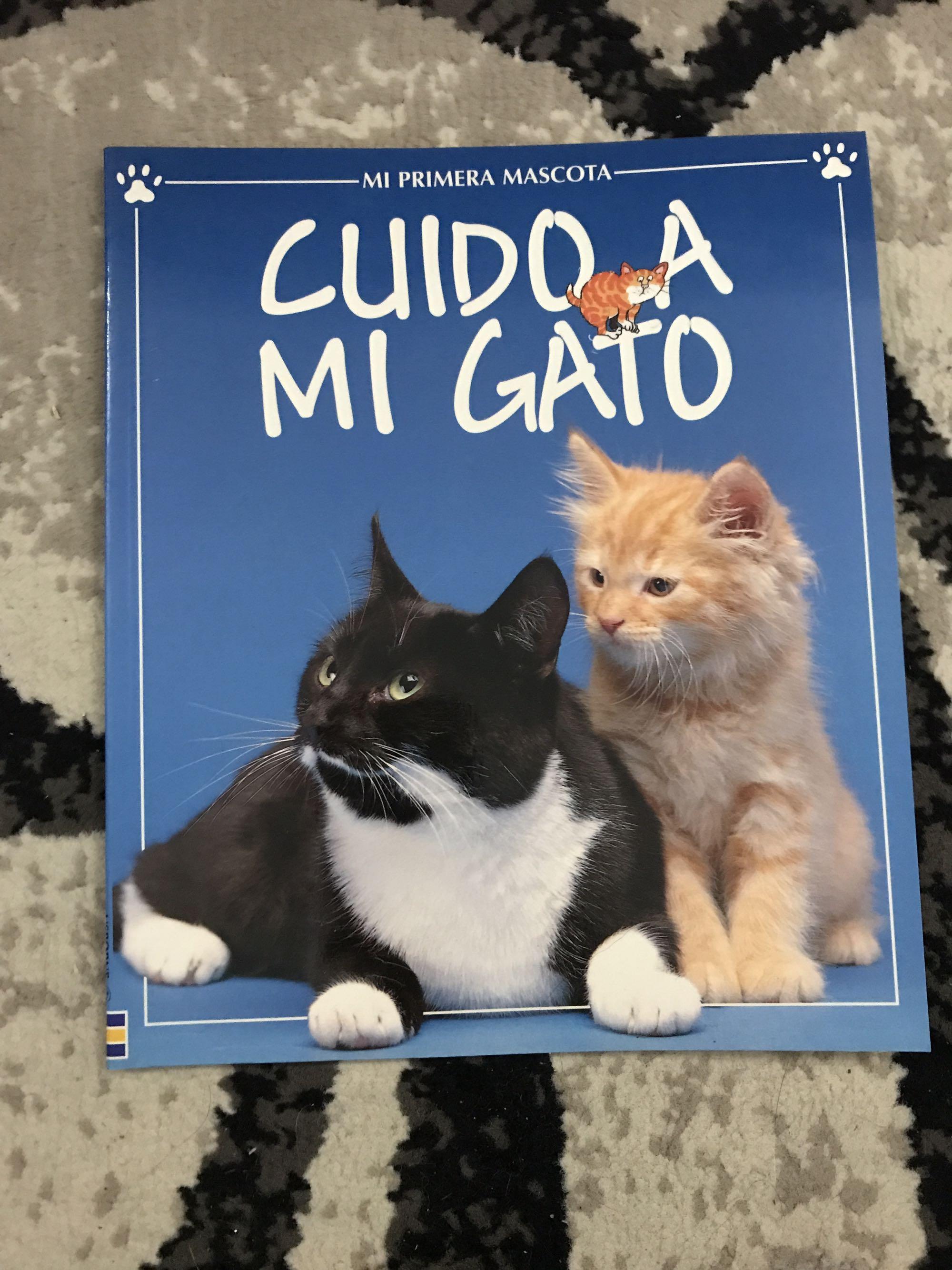 Spanish Cat book