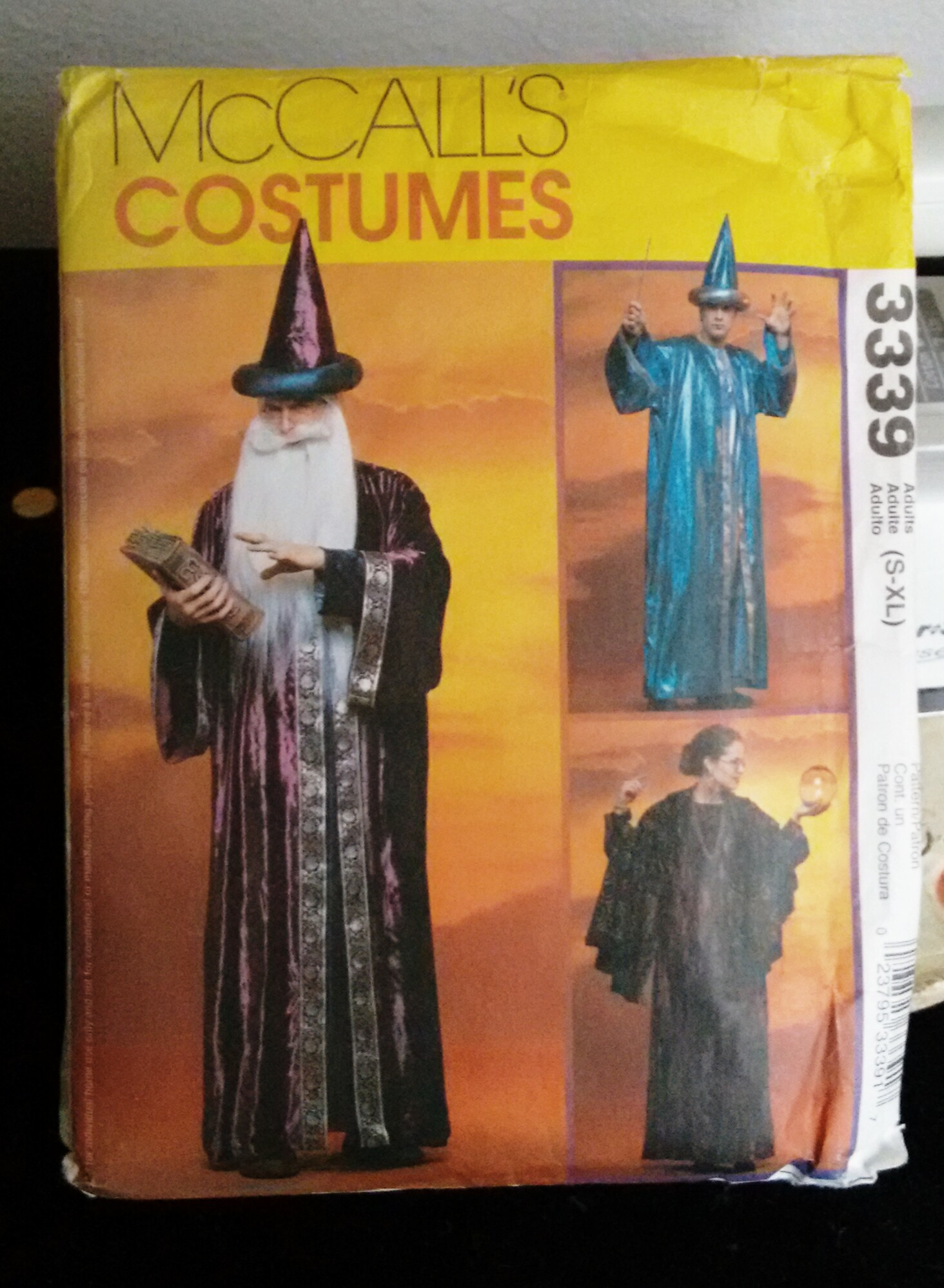 Adult-Sized Halloween Costume Patterns