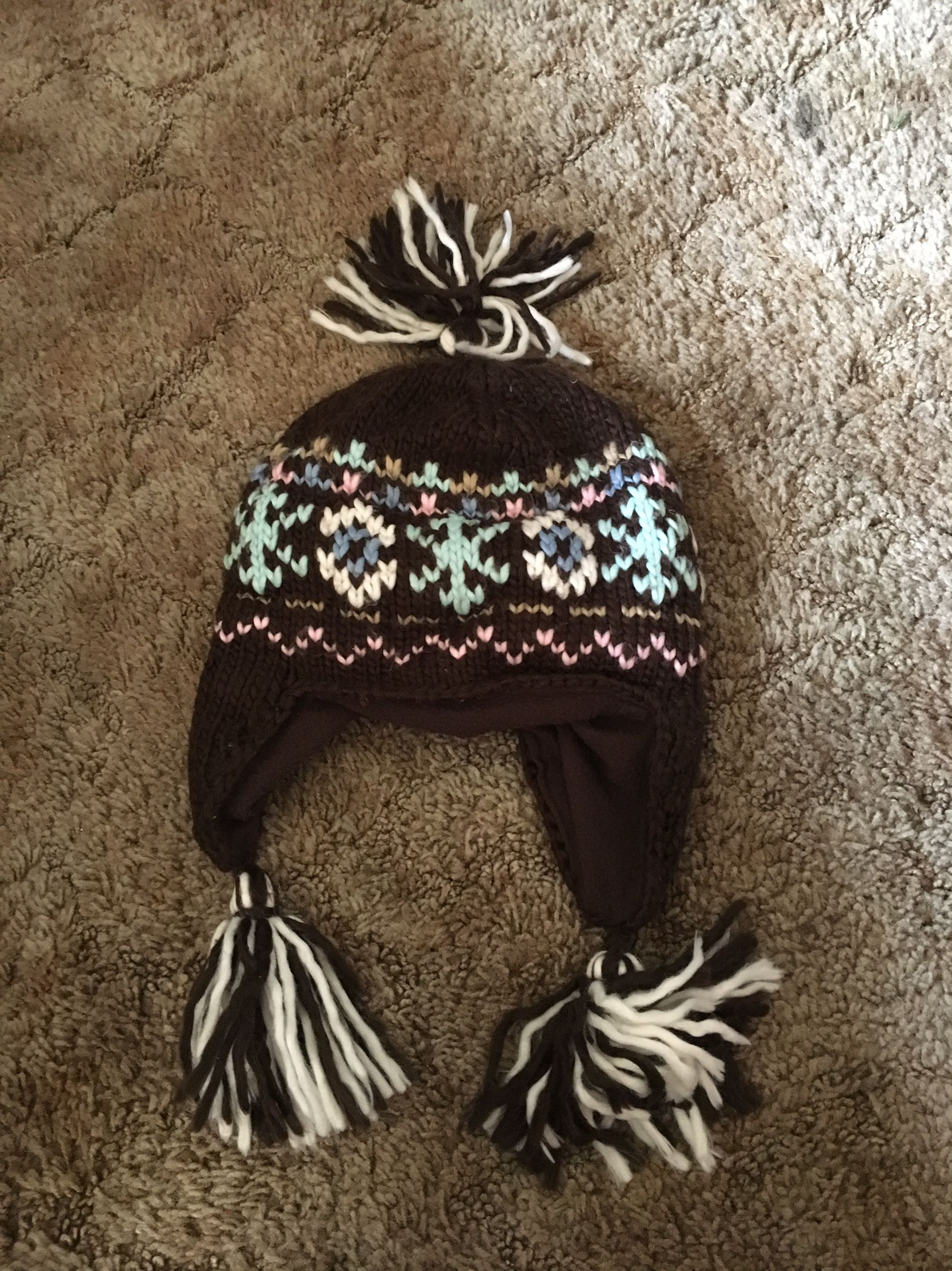 Earflap hat (youth 4-7)