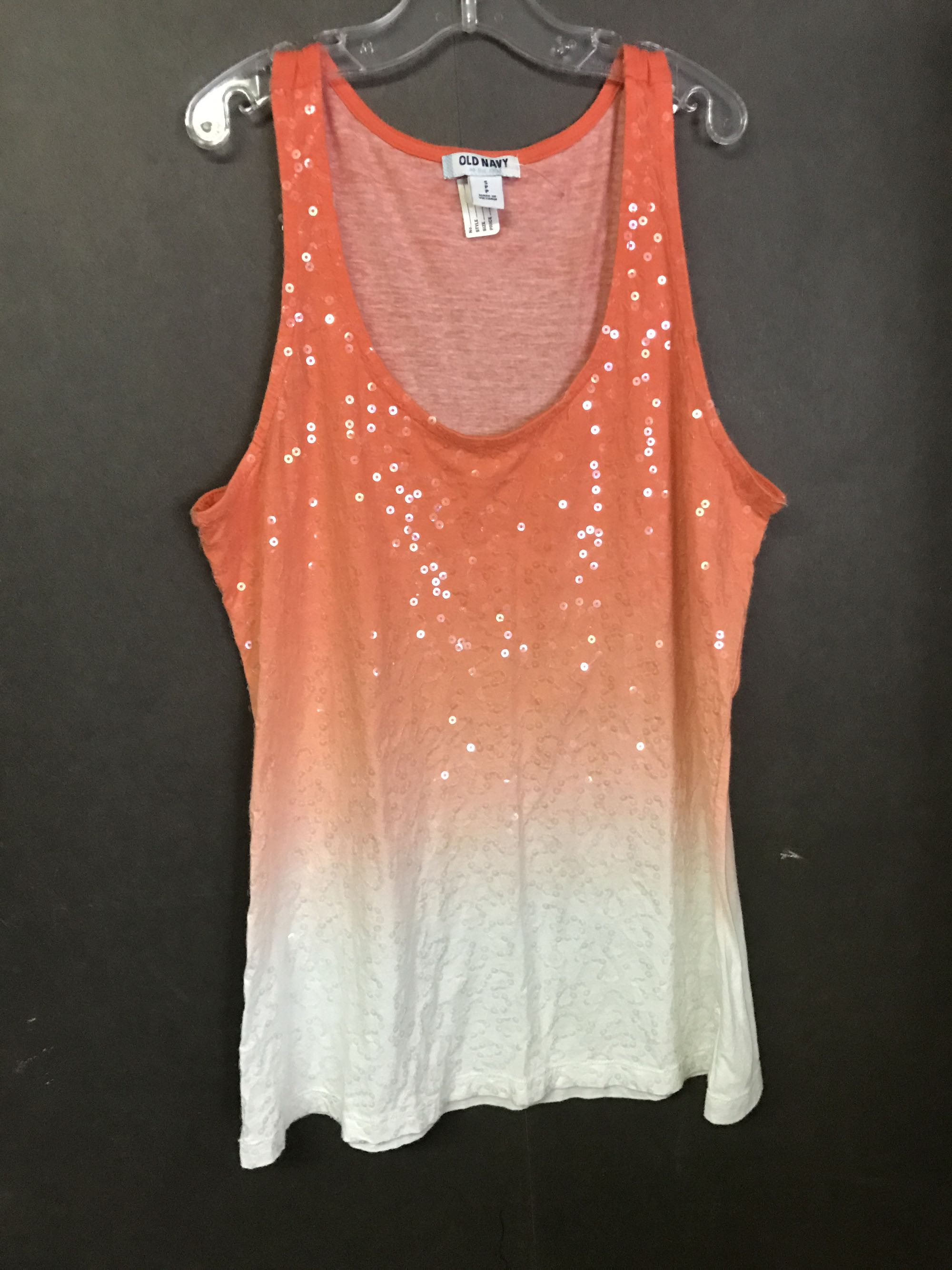 Old navy small sequin ombré tank