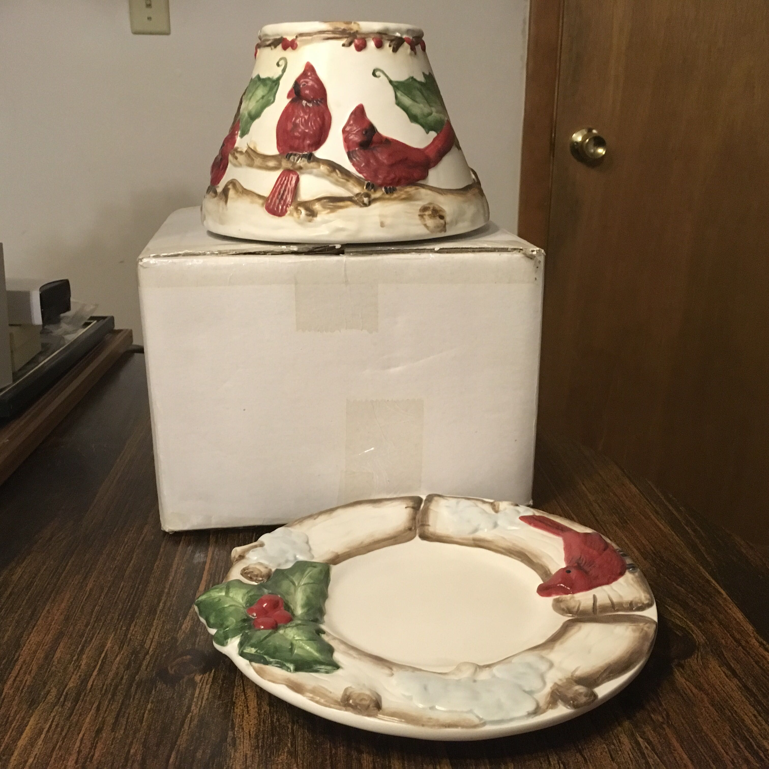 Holiday Candle Stand and Topper