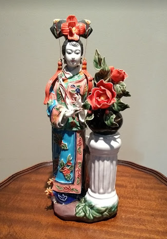 RARE, Ancient Qing Dynasty Porcelain Figurine