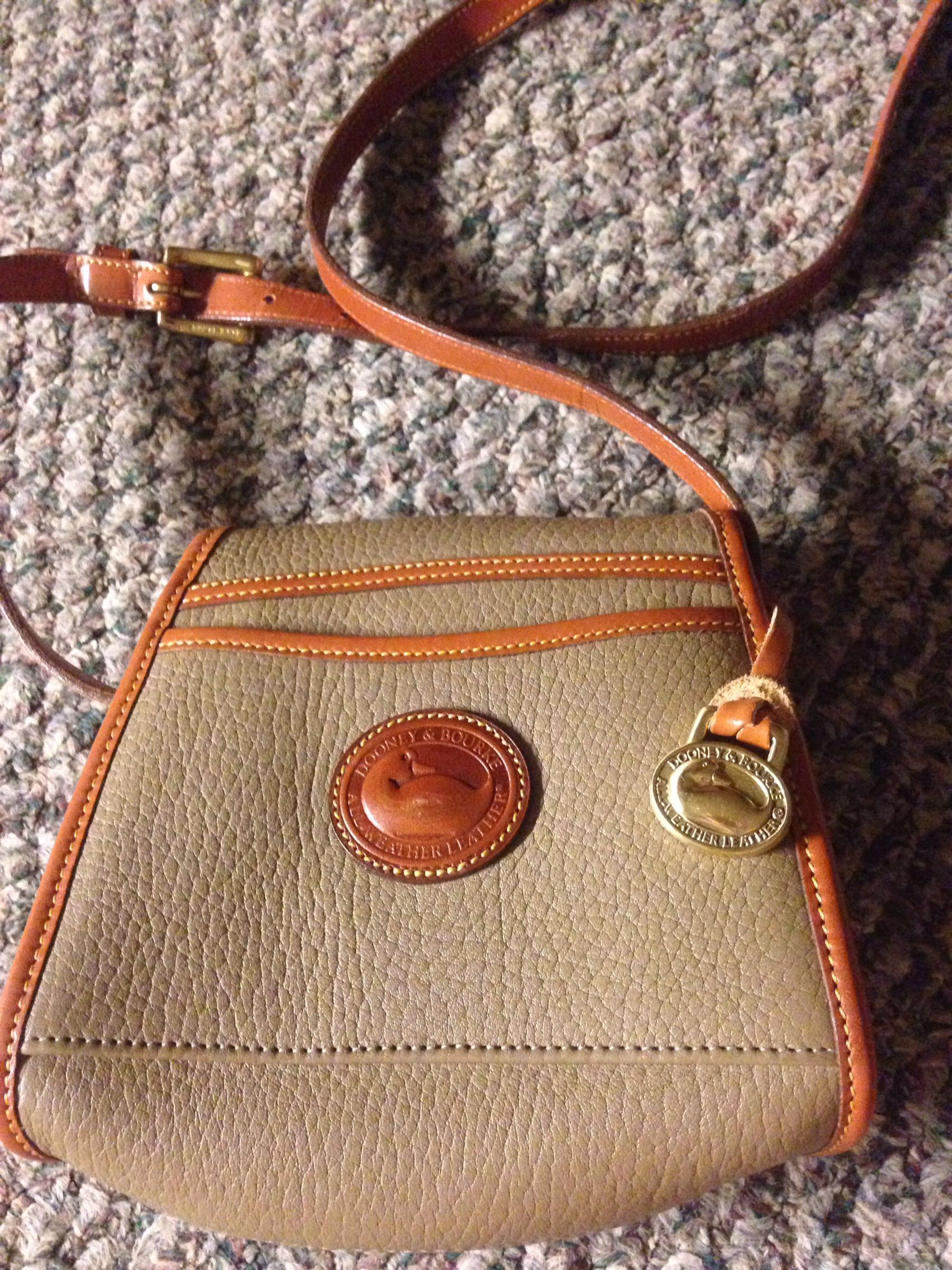 Small Dooney and Burke cross body bag/purse