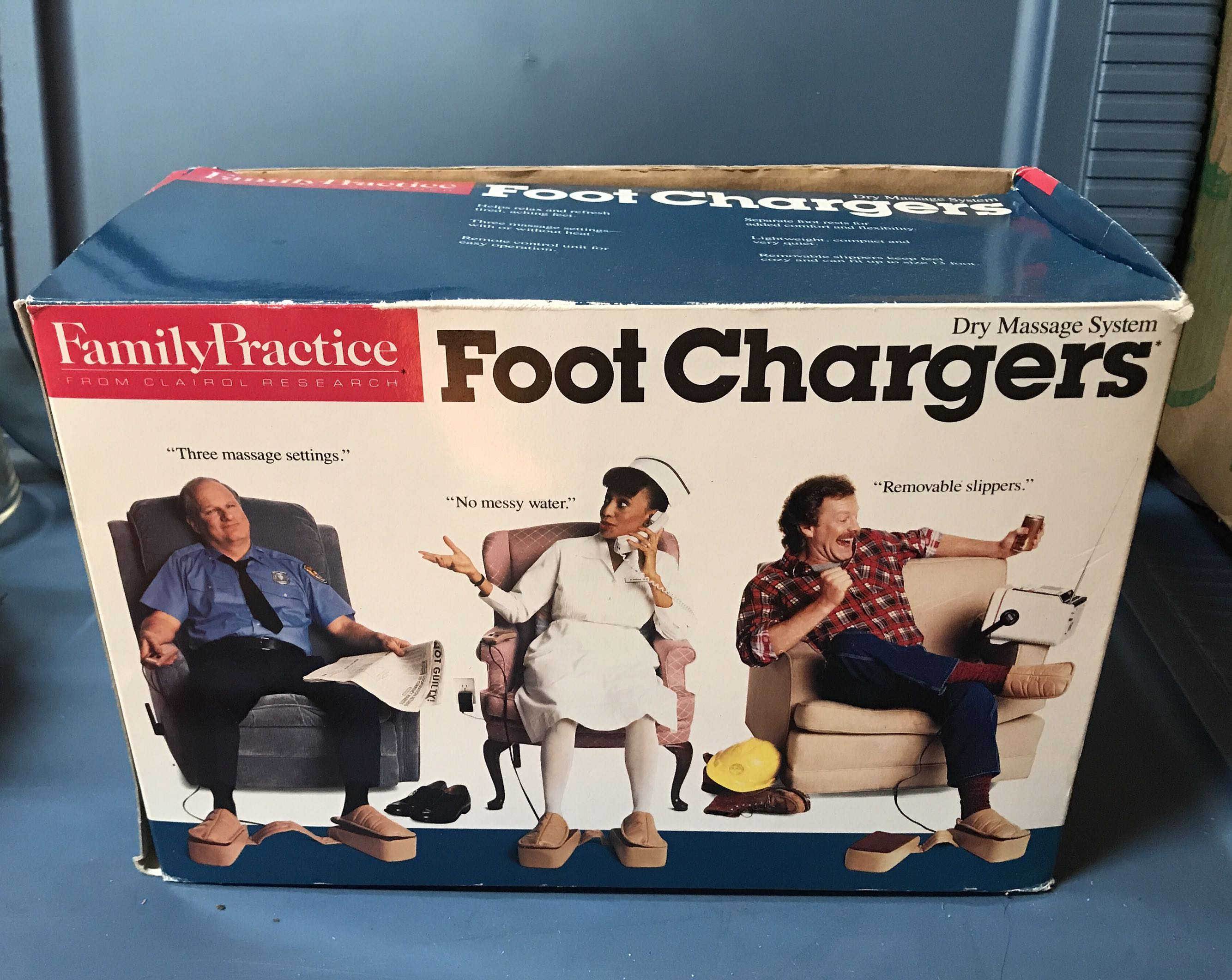 Vintage Foot Therapy