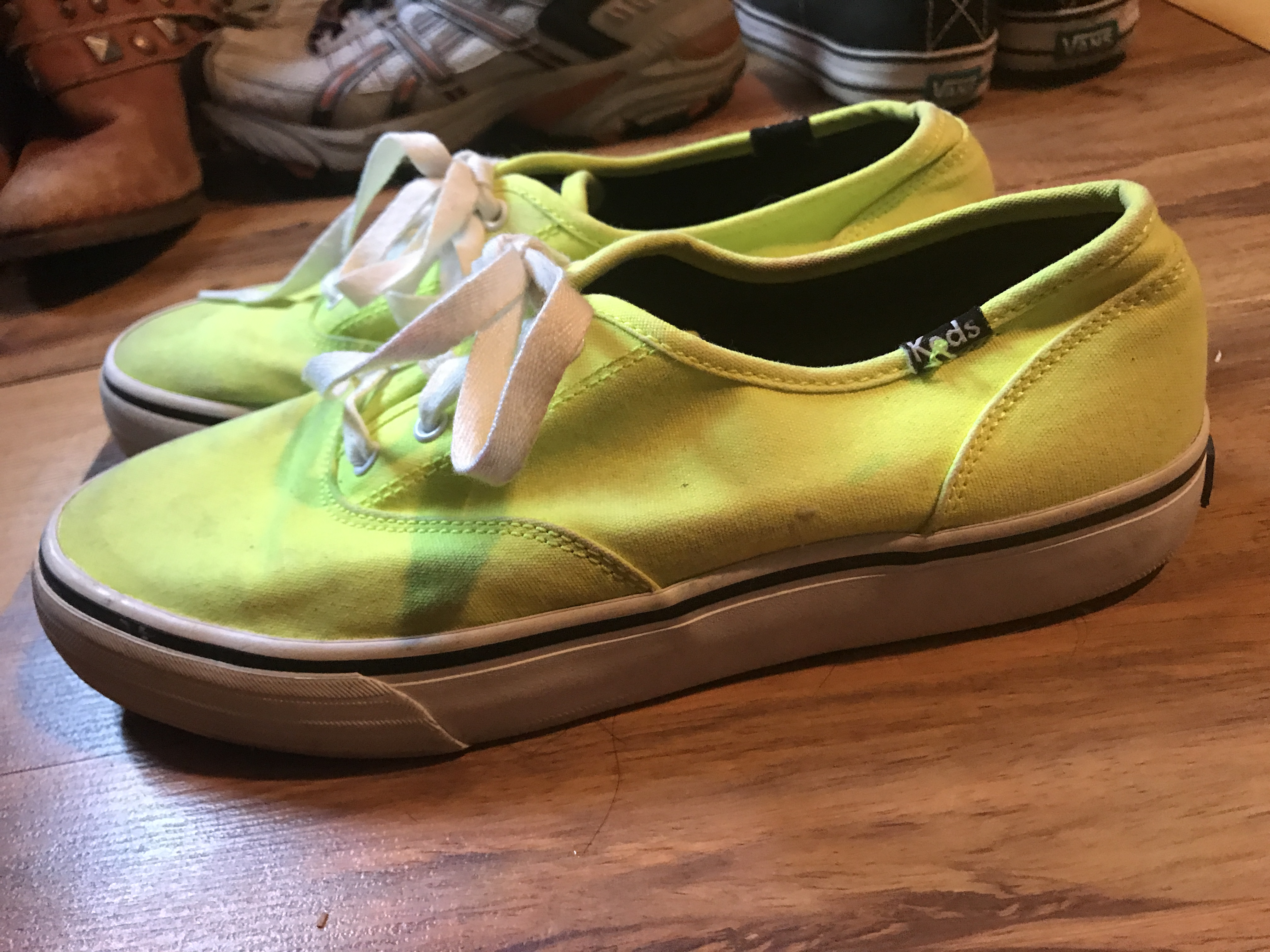 Bright Yellow KEDS Size 7