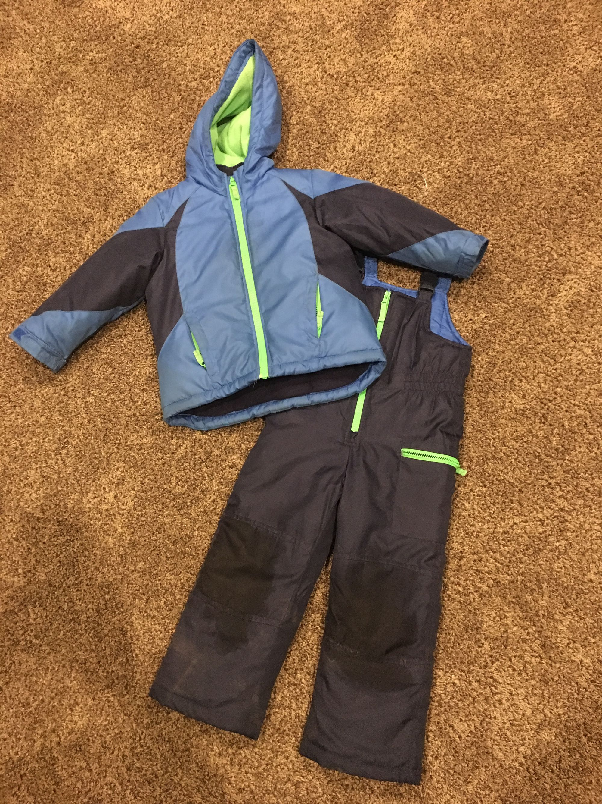 Boys Size 4 Carters Snow Suit