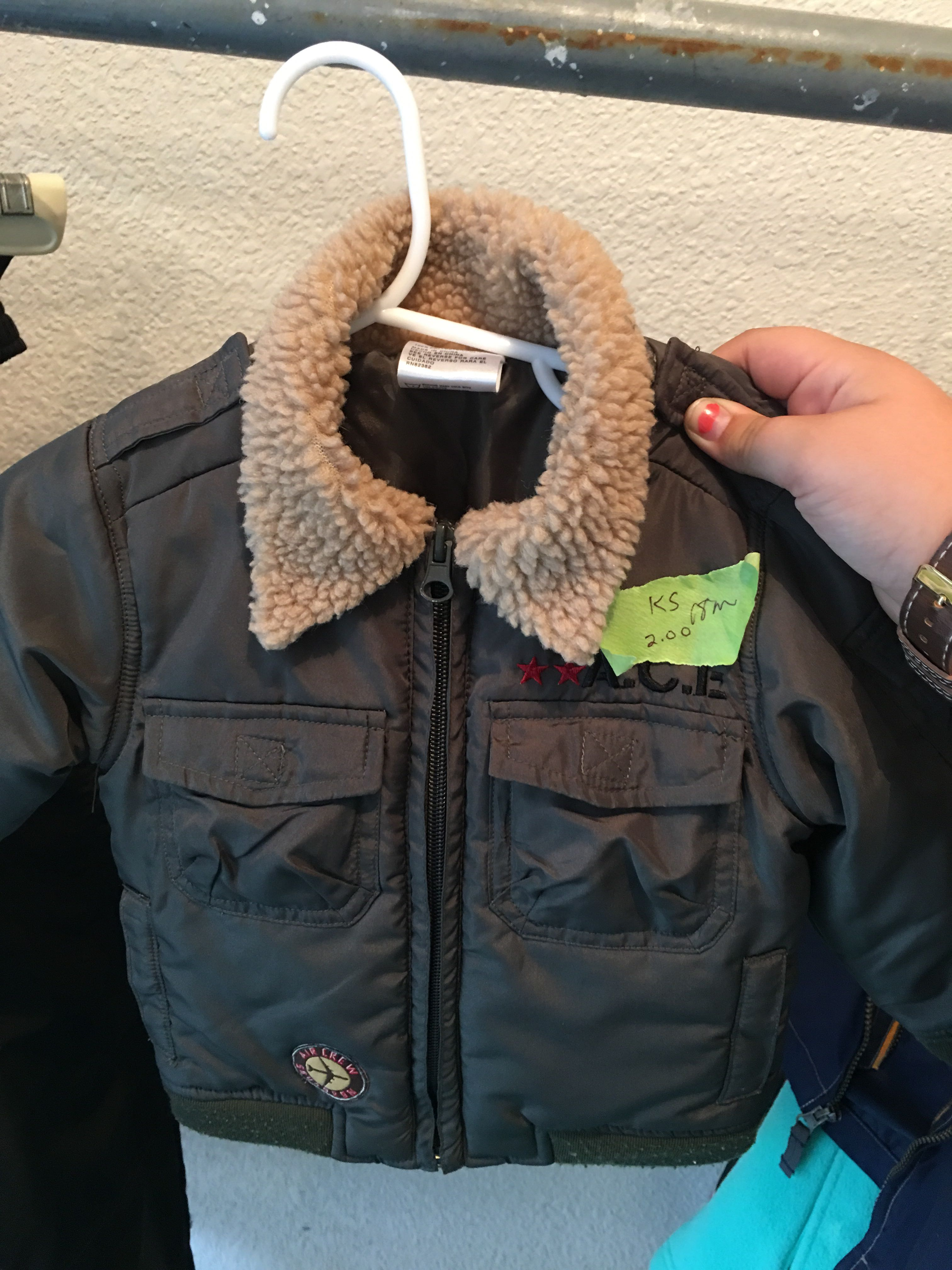 18 months toddler fall jacket