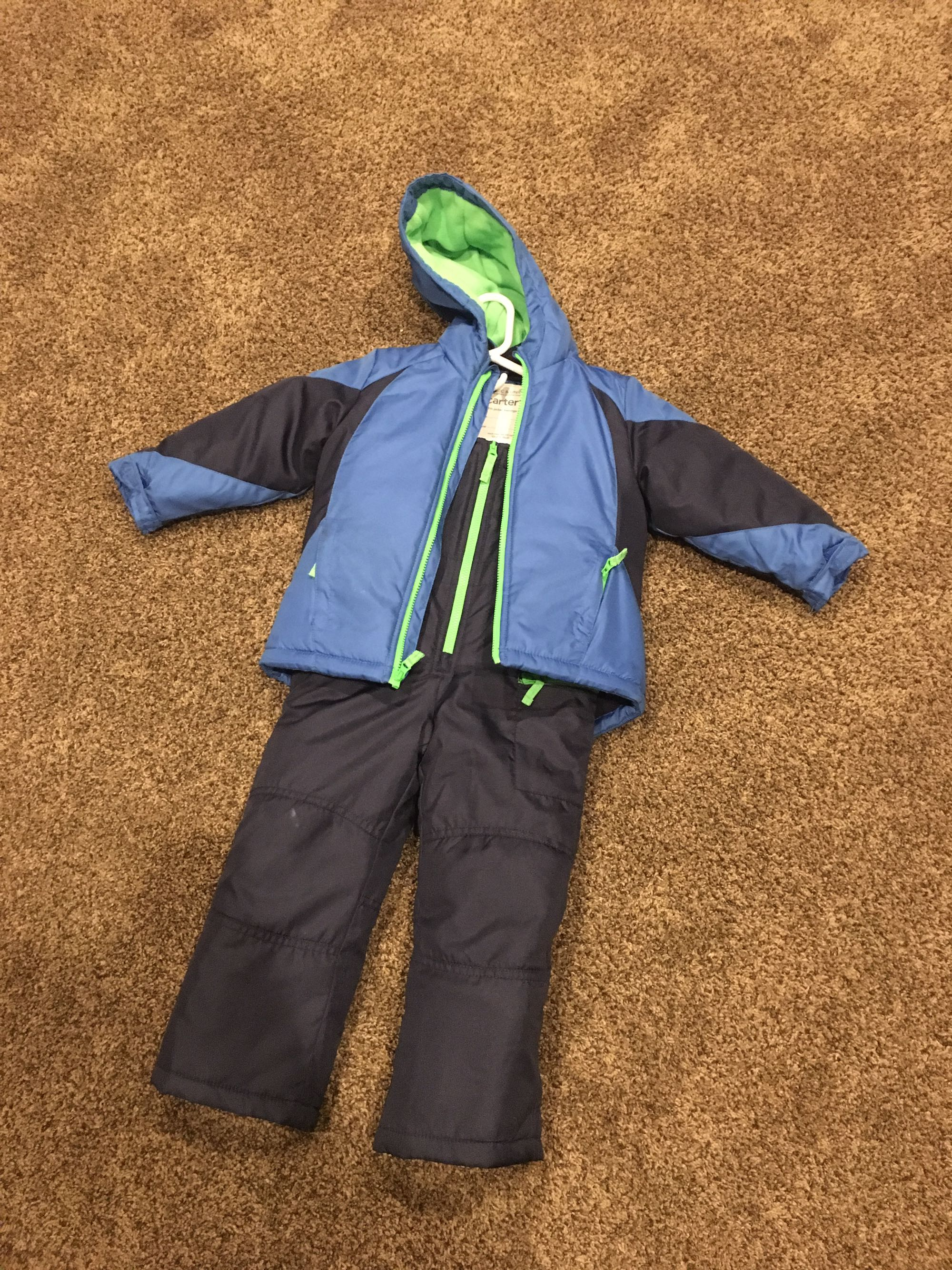 Carters Size 4 Snow Suit