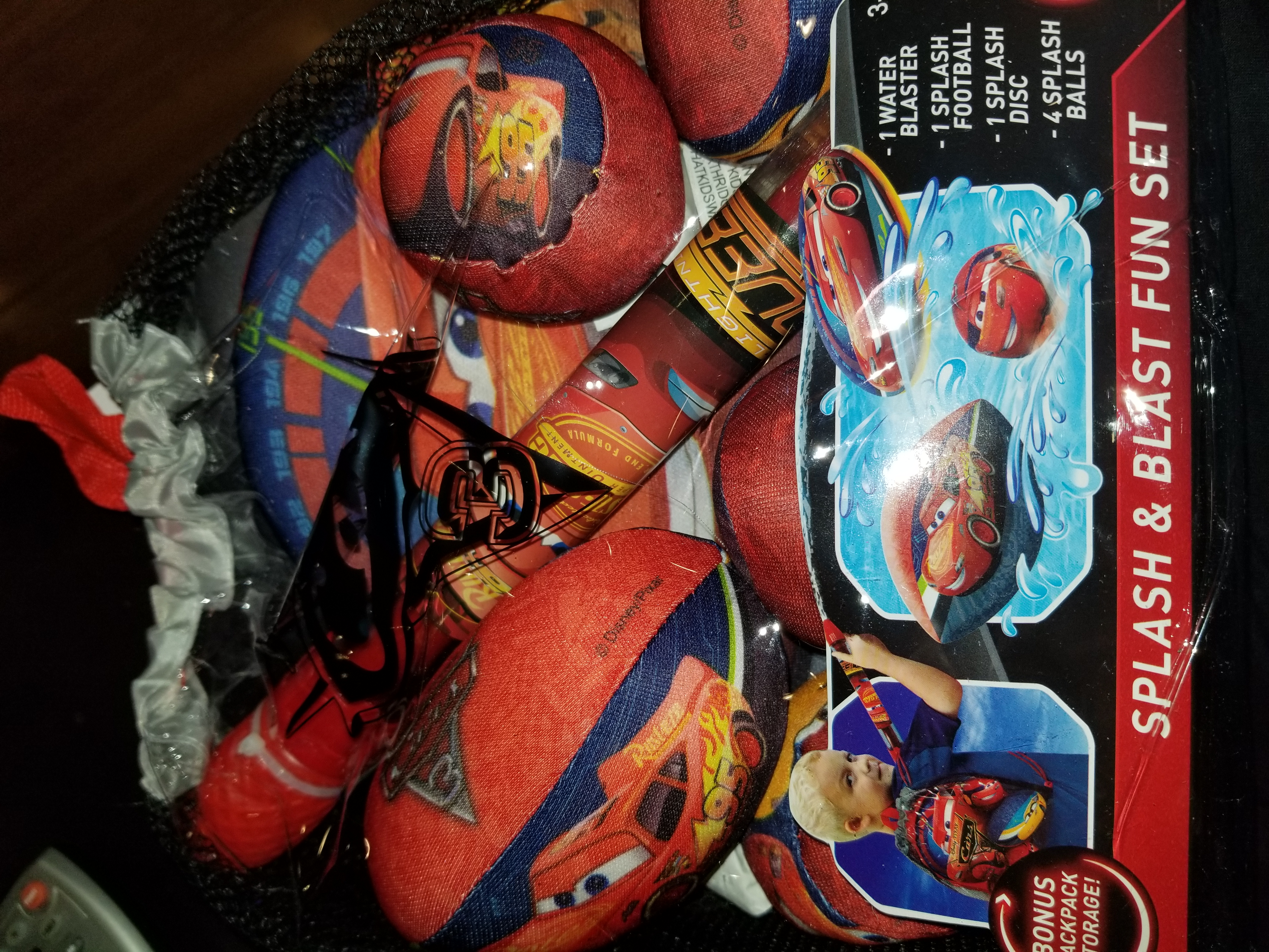 Cars 3 splash and blast fun set