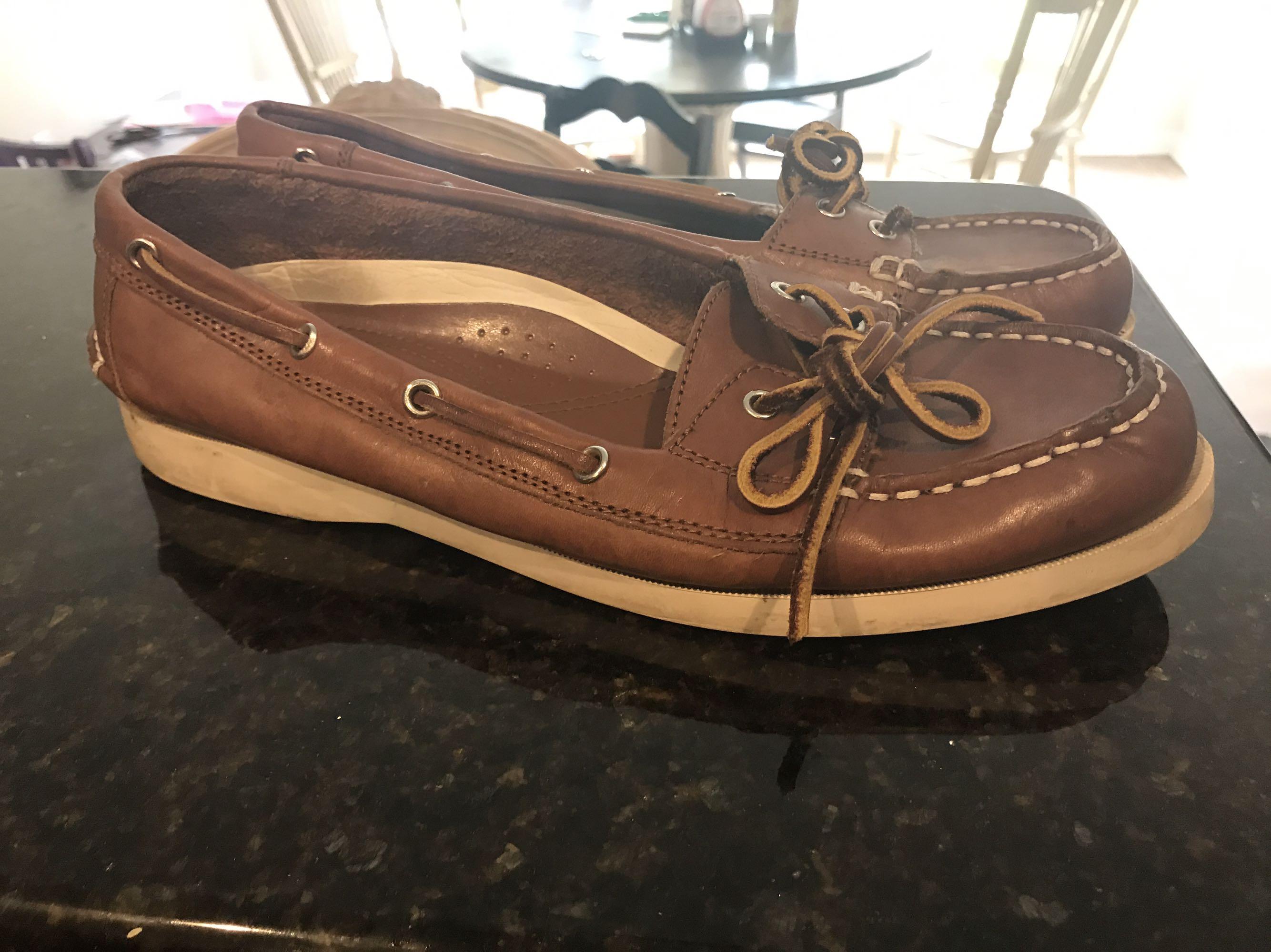 Ralph Lauren Women's Size 10 Boat Shoes EUC