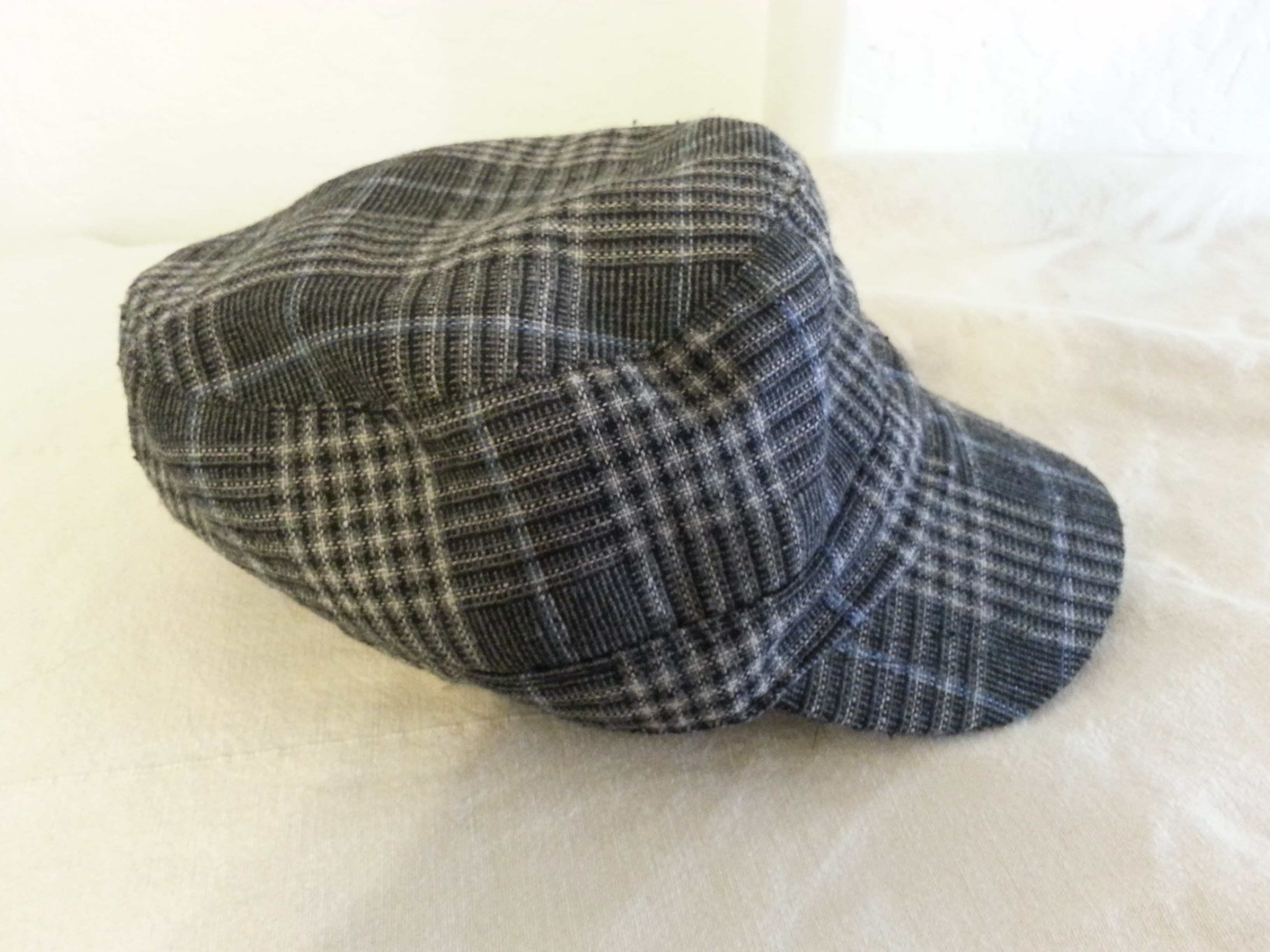Small Plaid Conductor Hat
