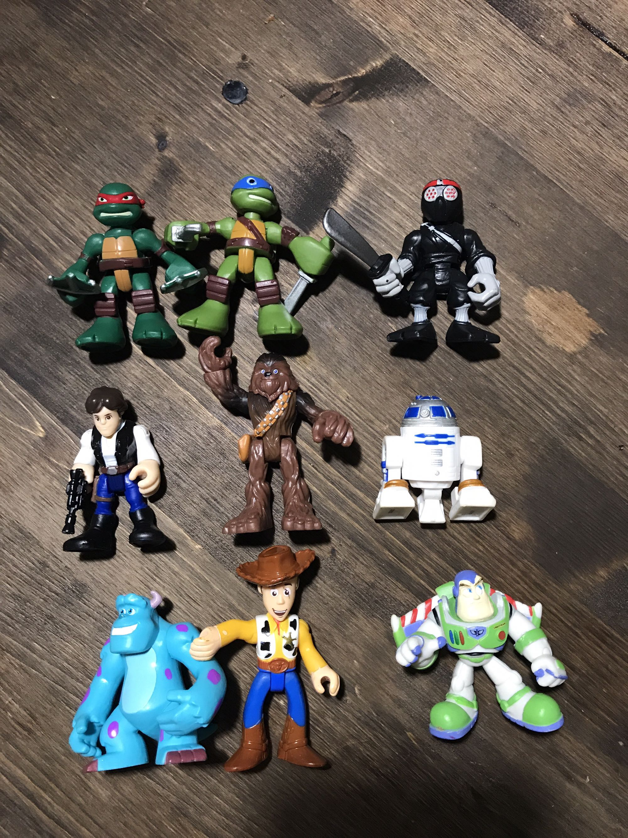 Imaginext figures