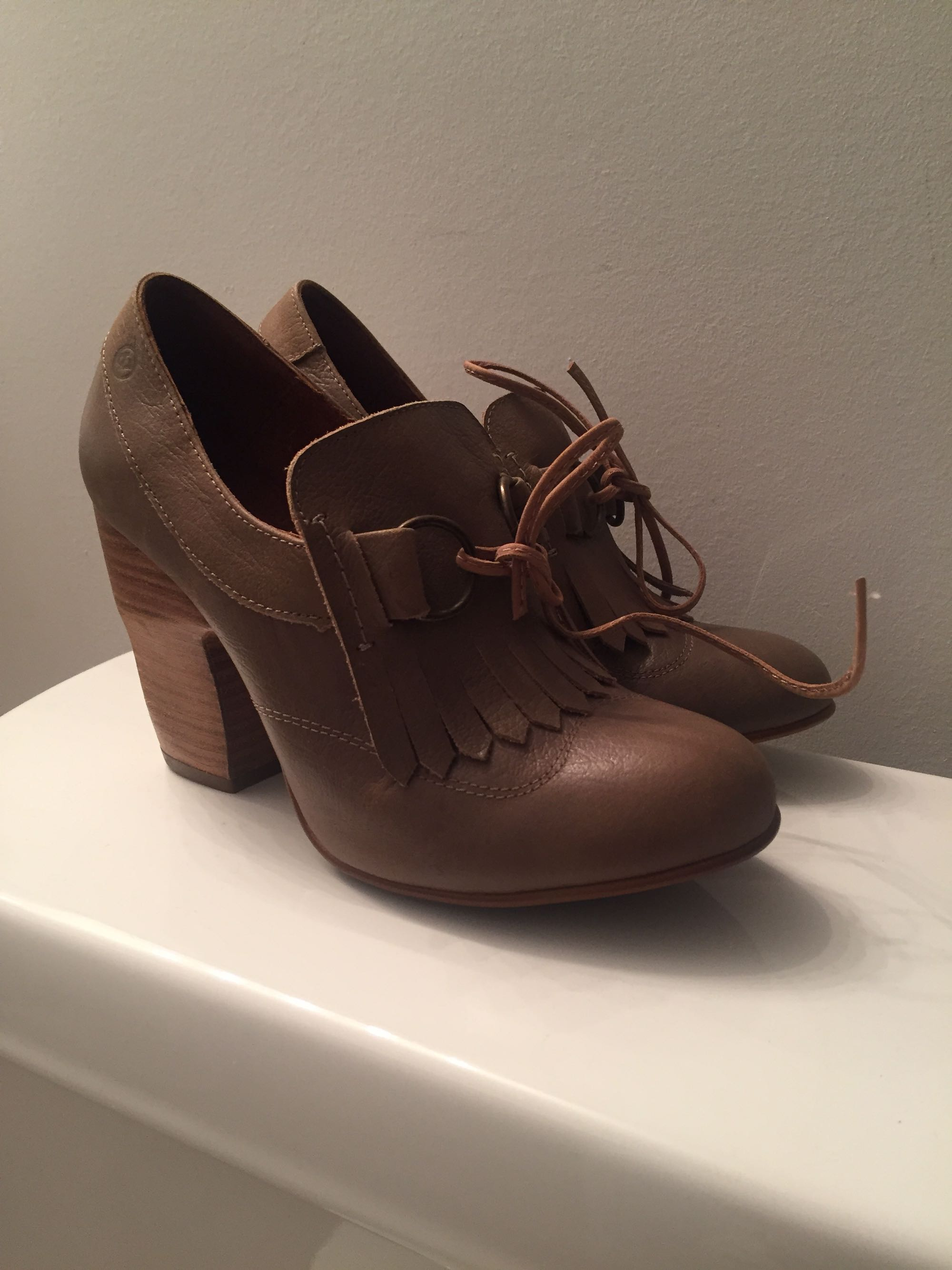 Sixty Seven leather shoes