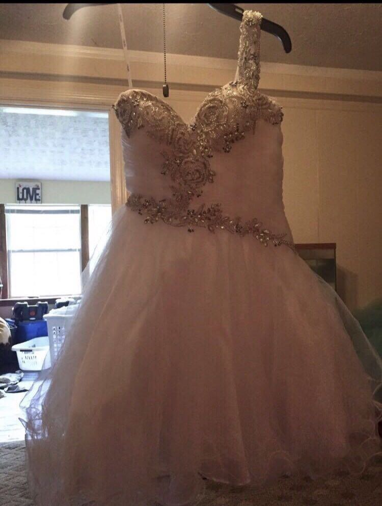 Prom/homecoming/wedding dress size 2