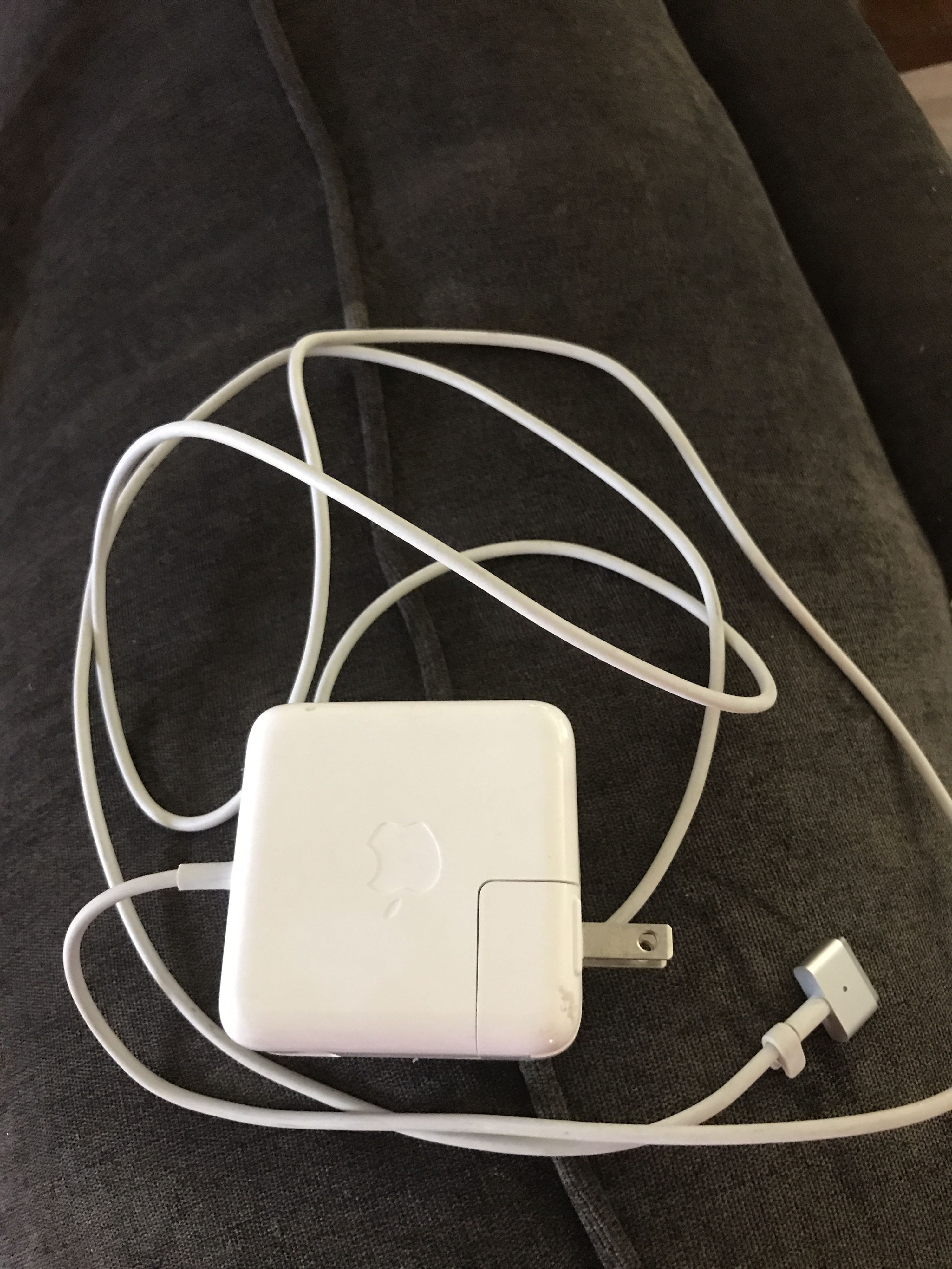 Charger for MacBook.