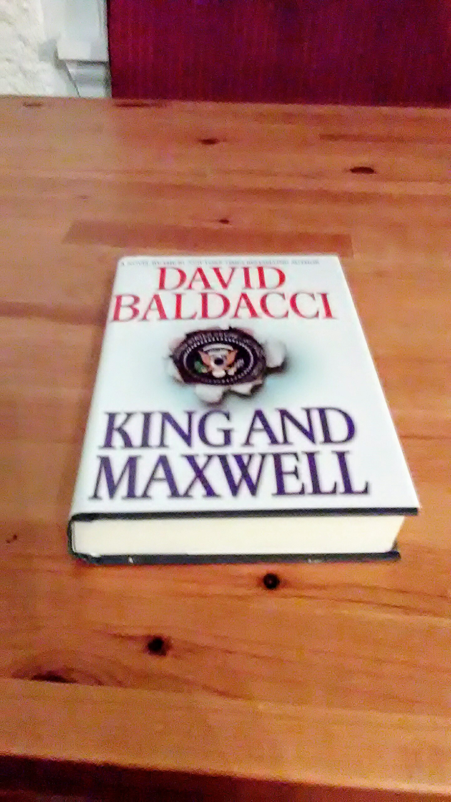 King and Maxwell (Book)