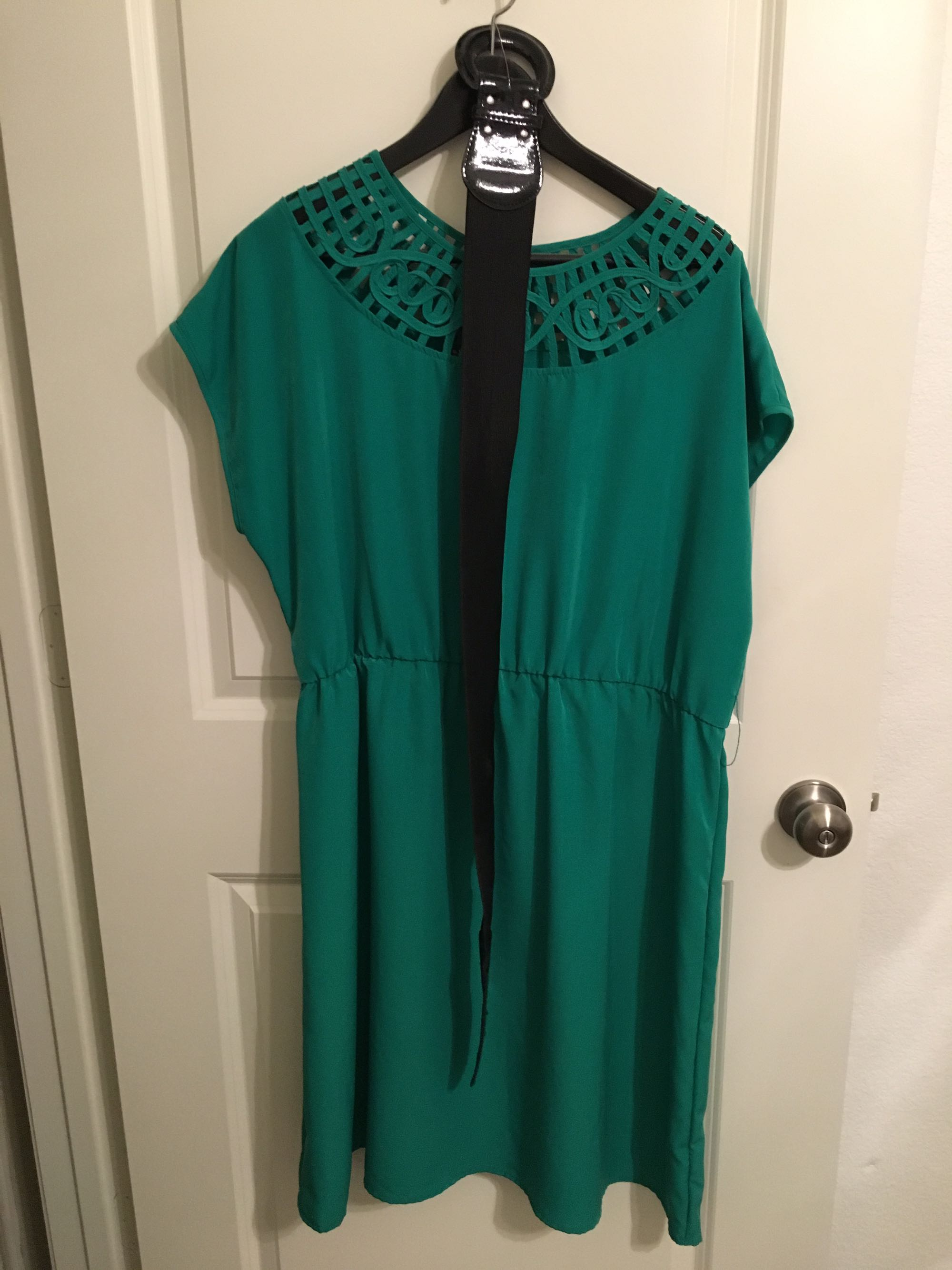 Kelly Green Dress, size XXL