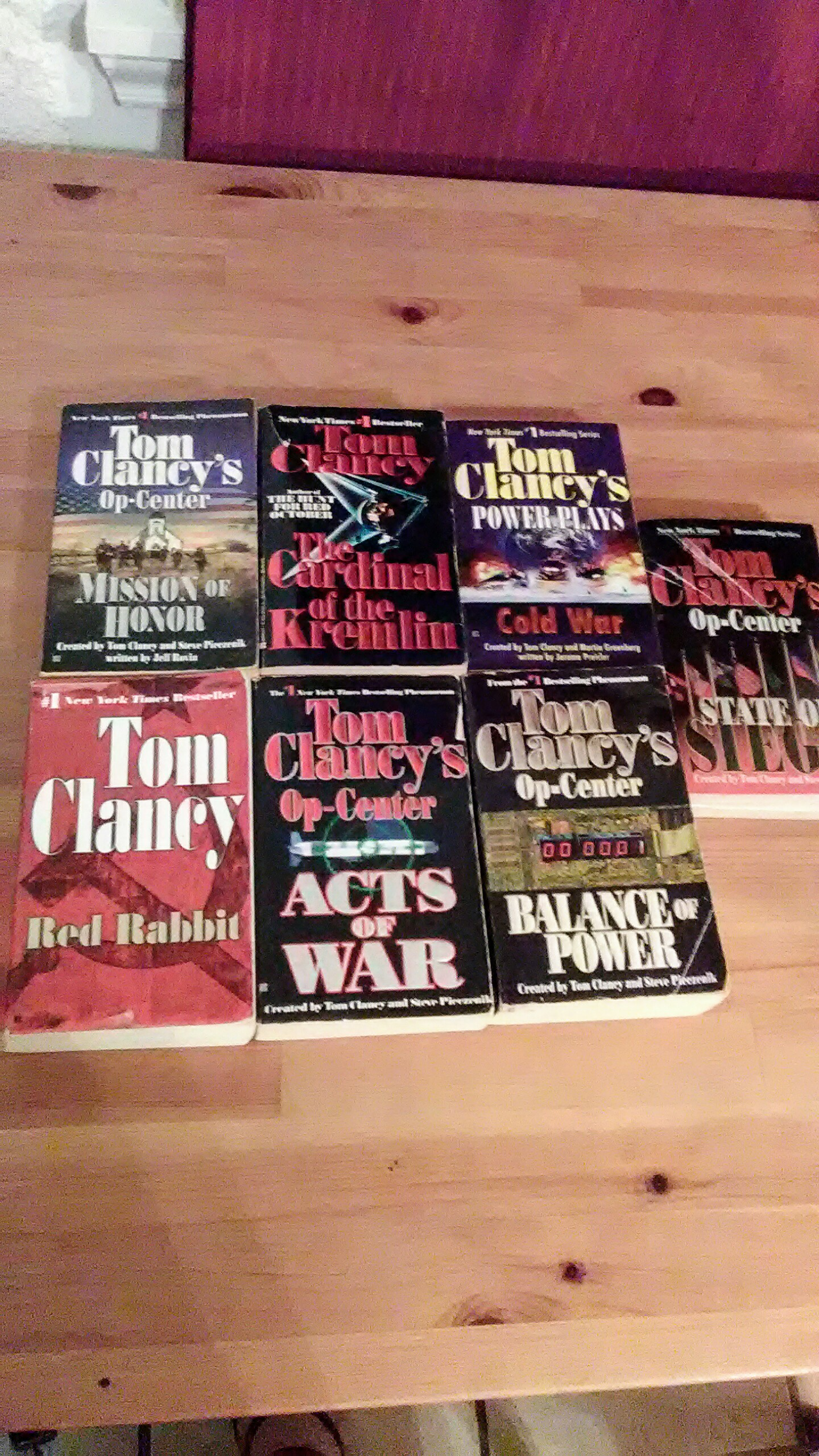Lot of 6 Books