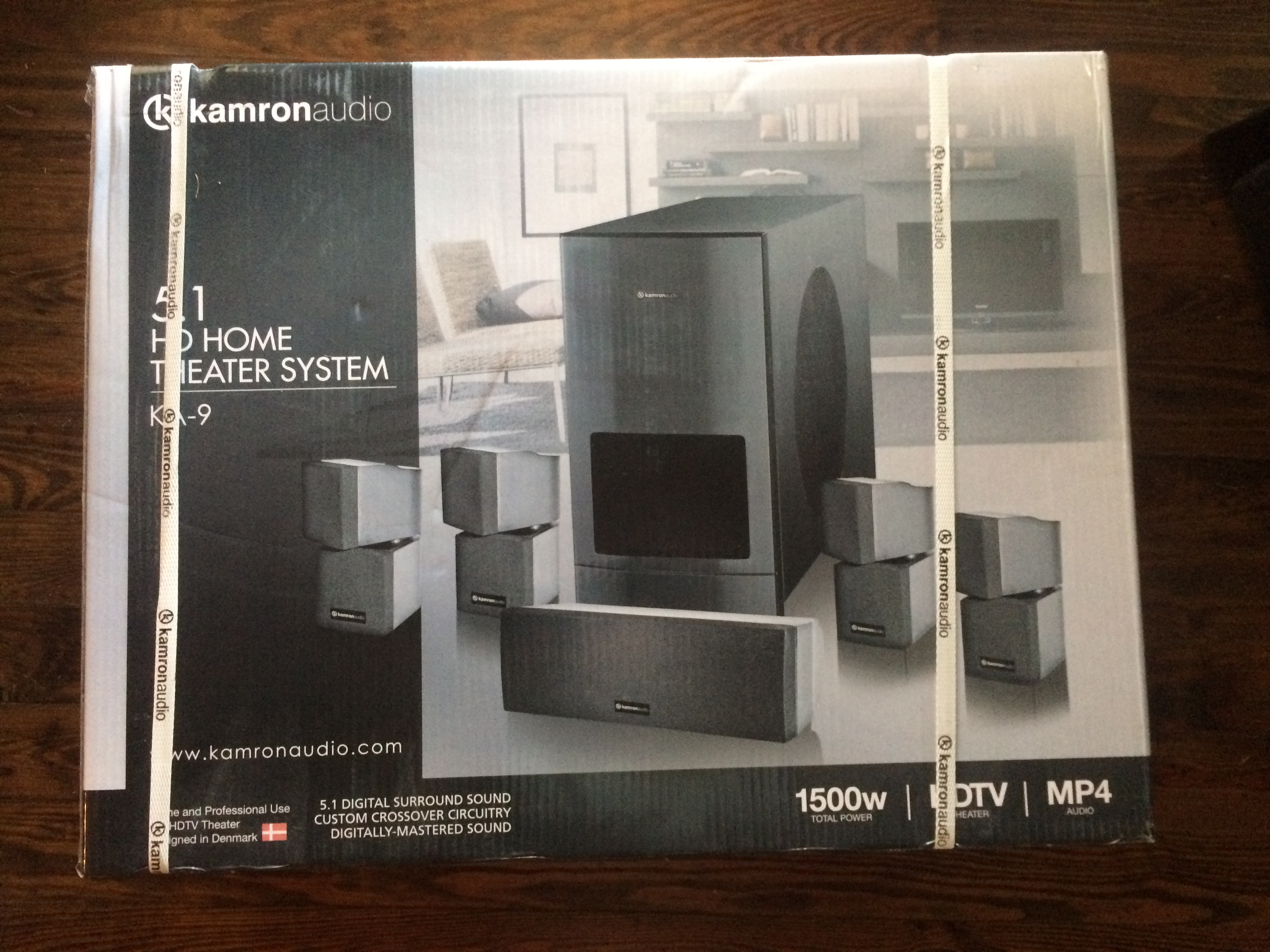 NEW IN BOX Kamron Audio KA-9 Home Theater System