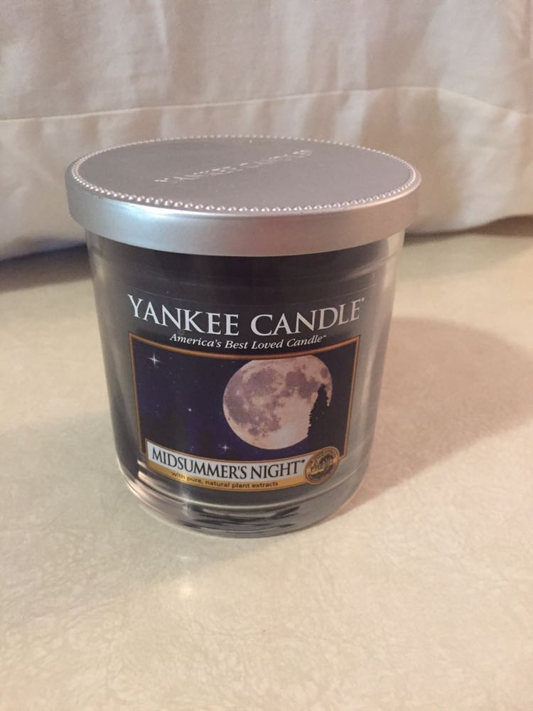 Smaller yankee candle