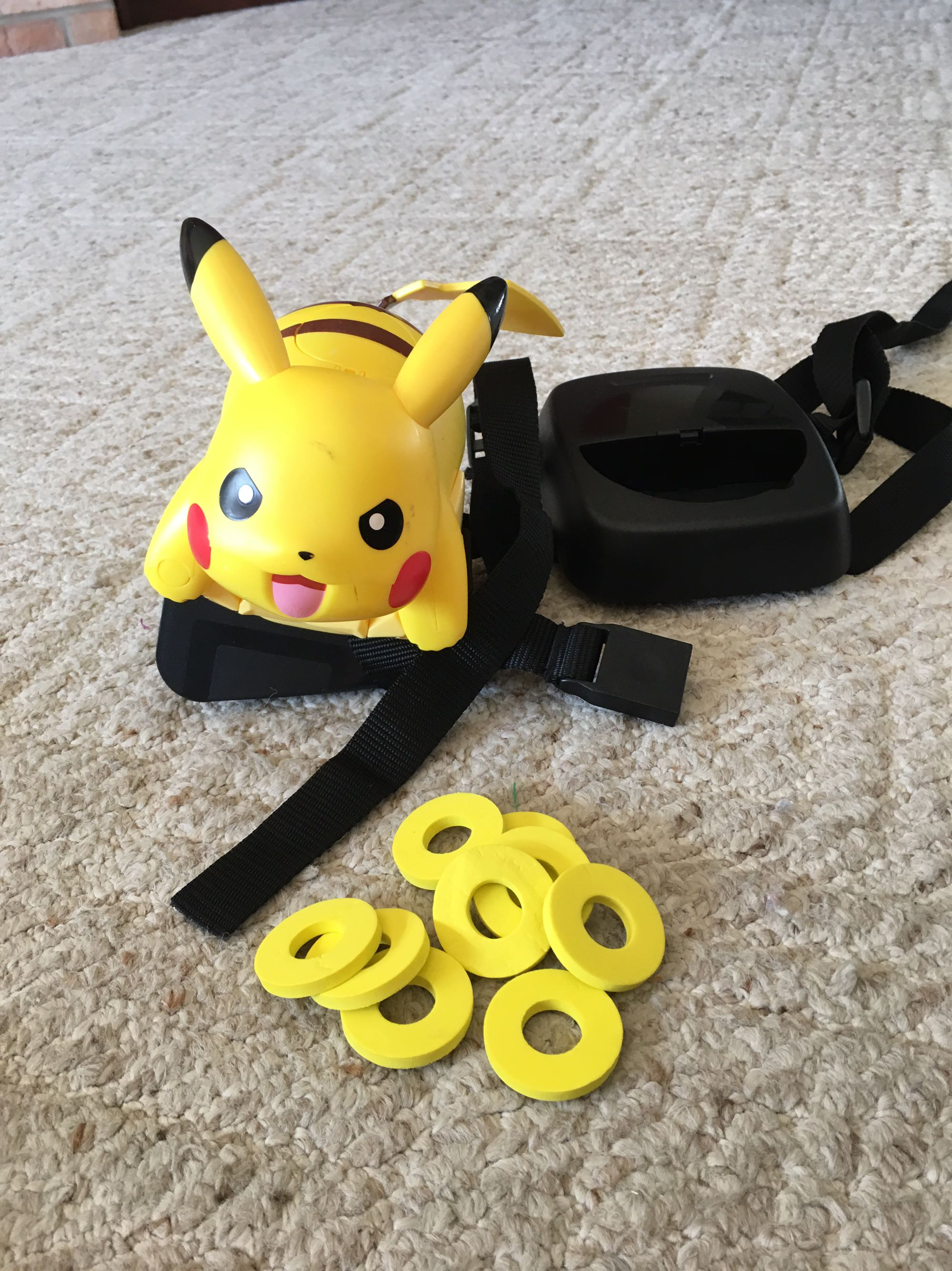 Pikachu wearable action figure