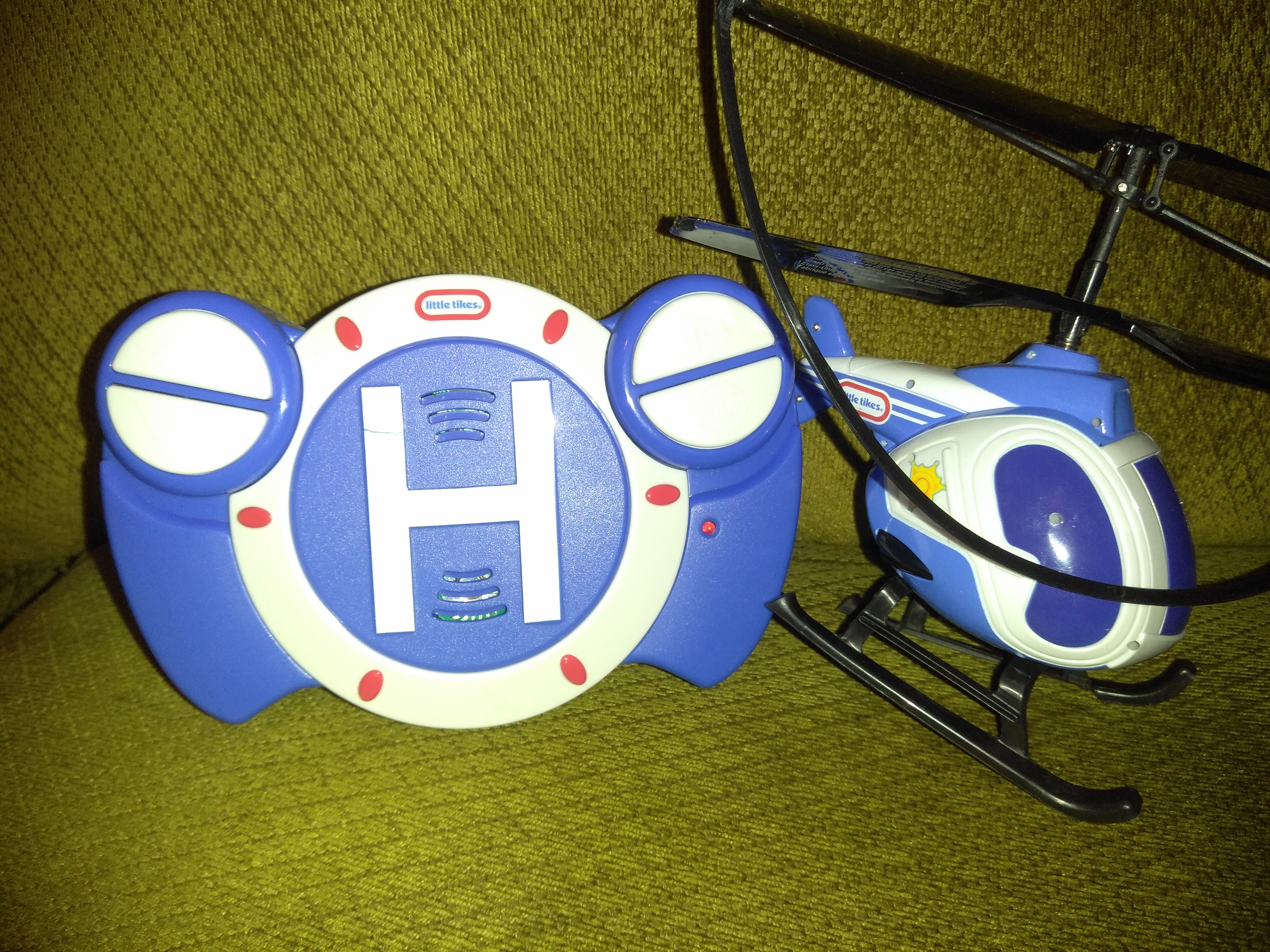 Little tikes remote control helicopter