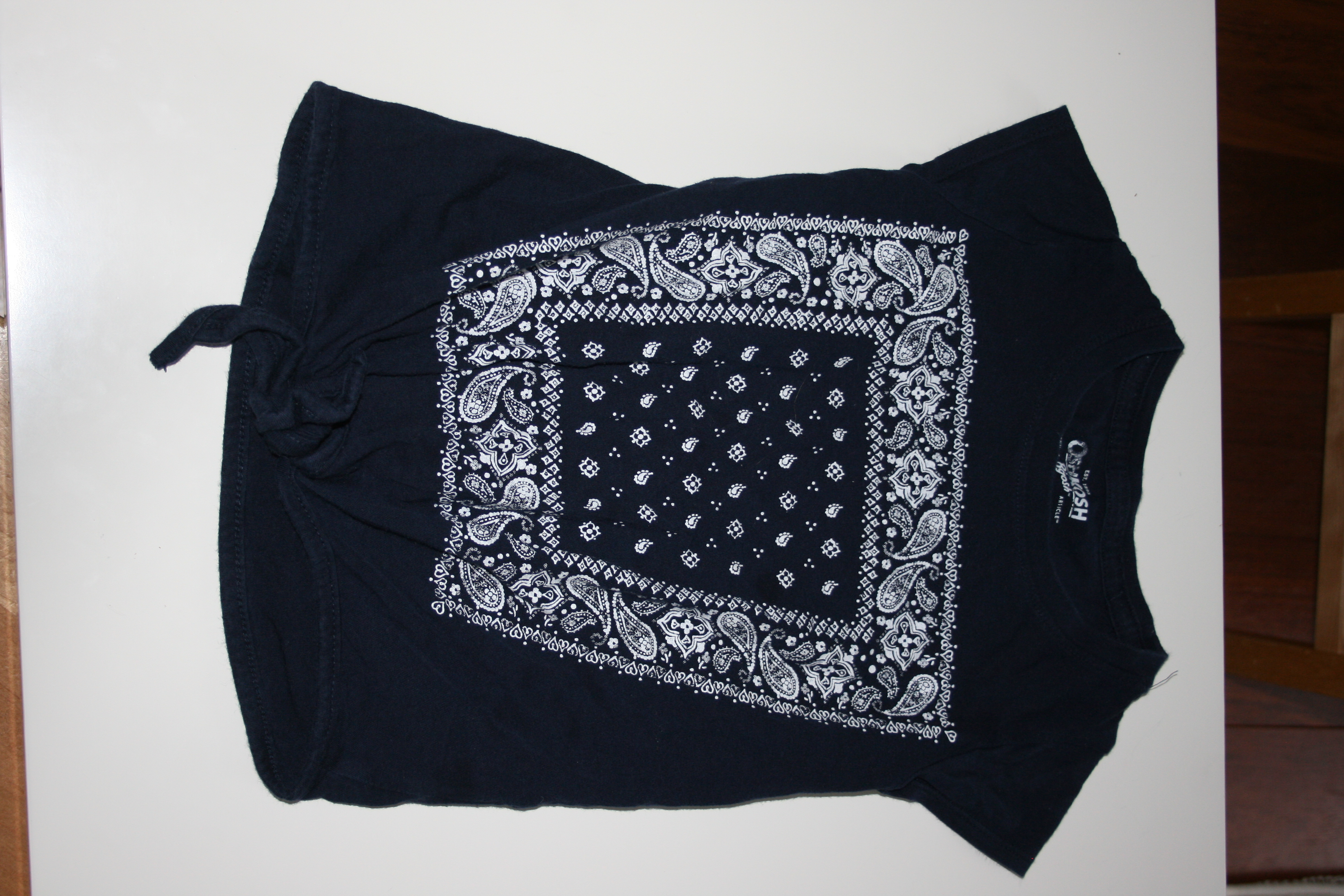 Navy Top, size 6