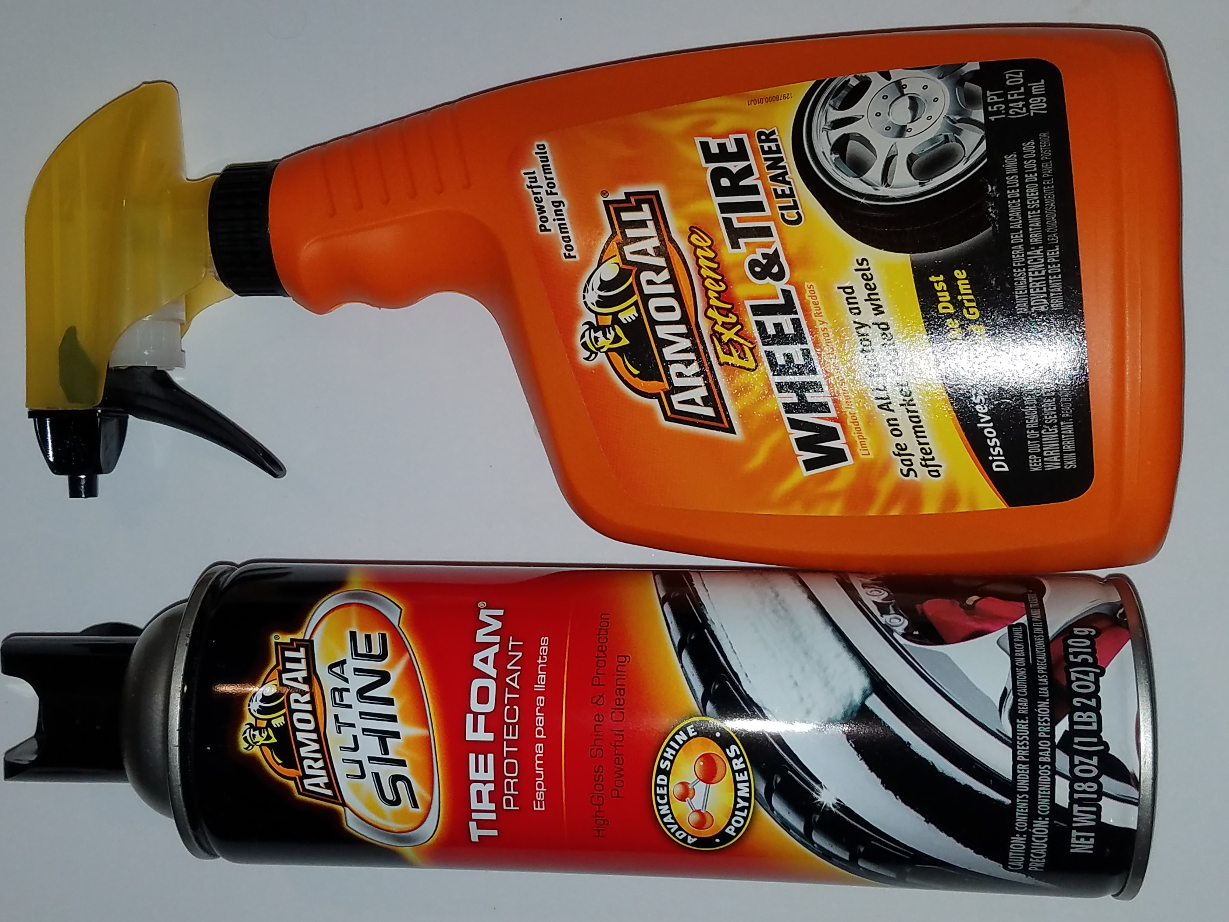 2 pc Armor All tire cleaning kit