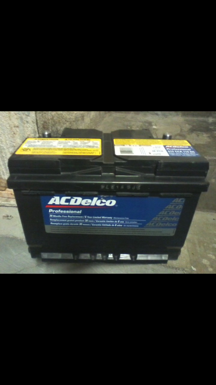 ACDelco Top Post Battery