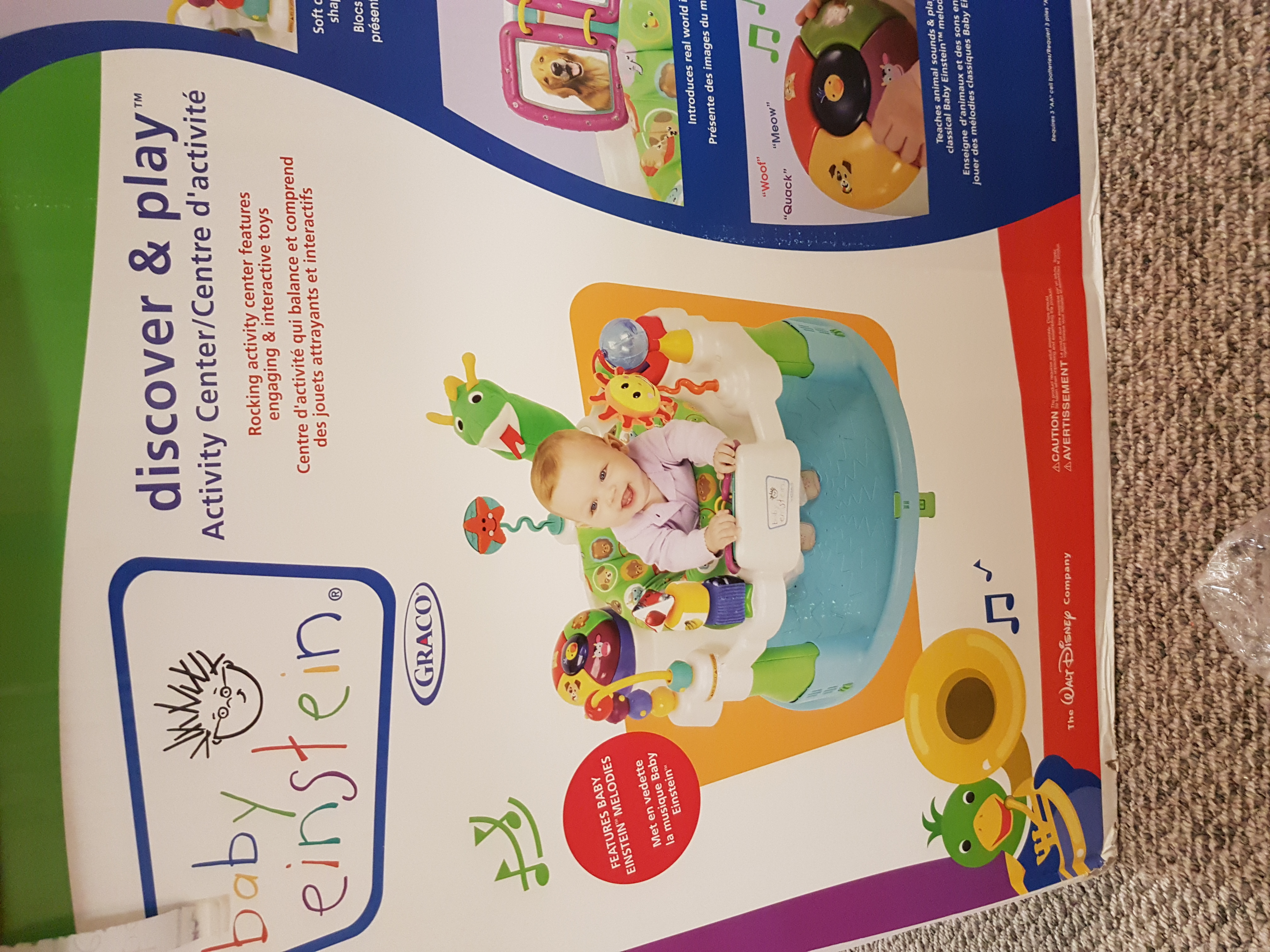 Baby Einstein discover and play activity centre.
