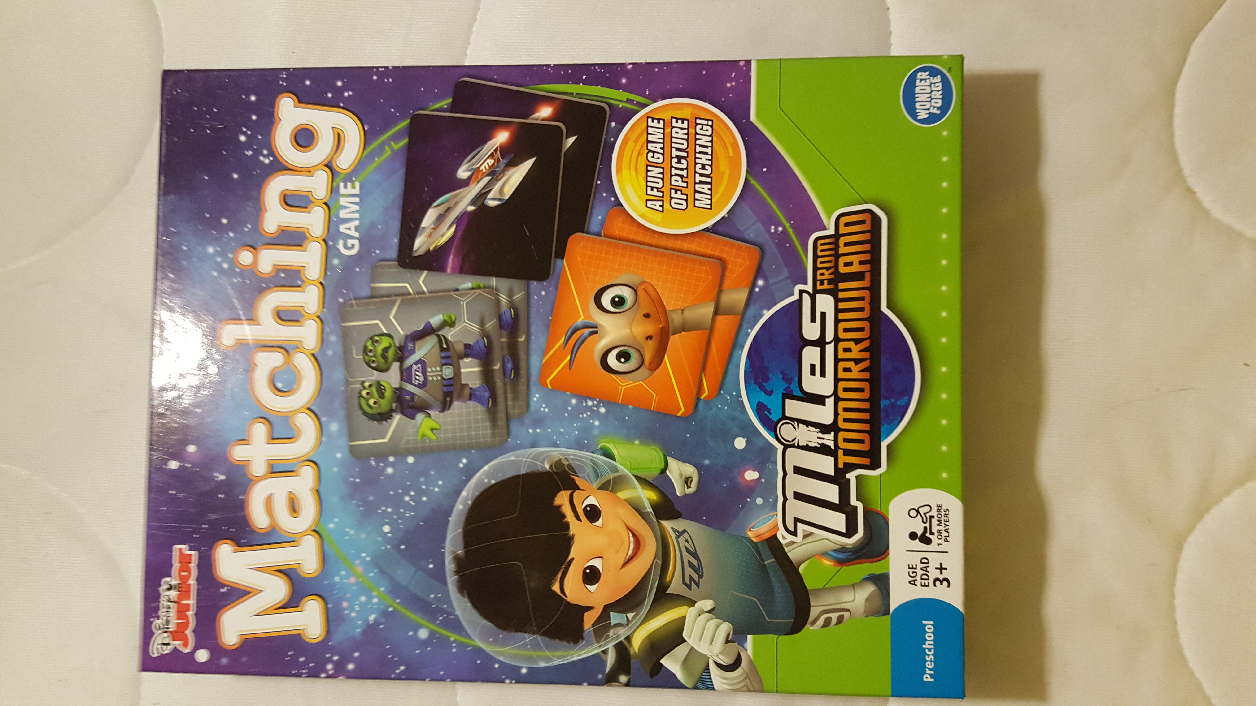 Disney Junior Matching Game Miles from Tomorrowland
