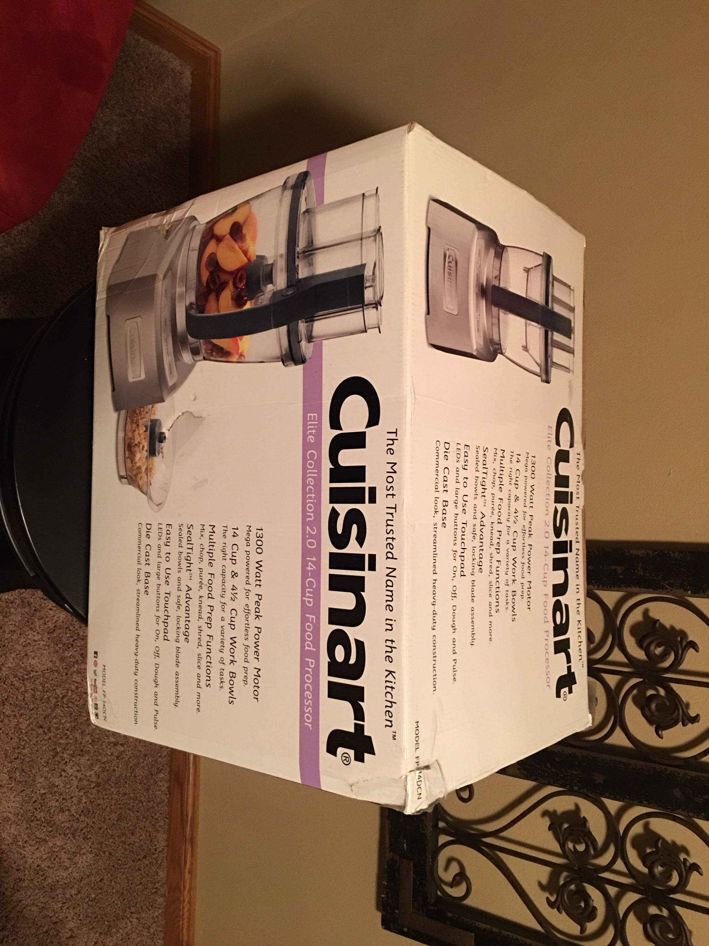 BRAND NEW, NEVER USED CUISINART 14 Cup FOOD PROCESSOR