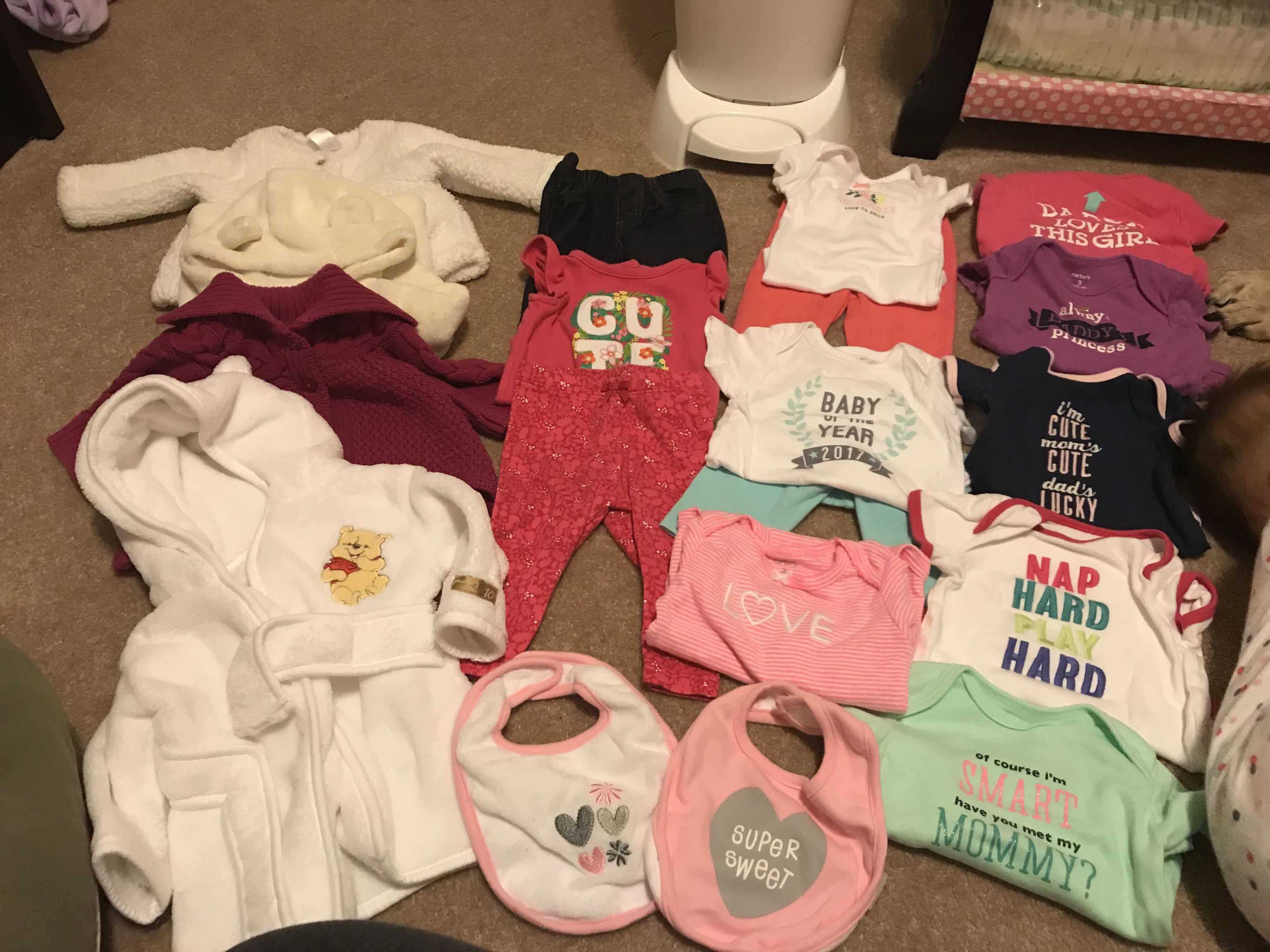Baby Clothing Lot (0-3 months)