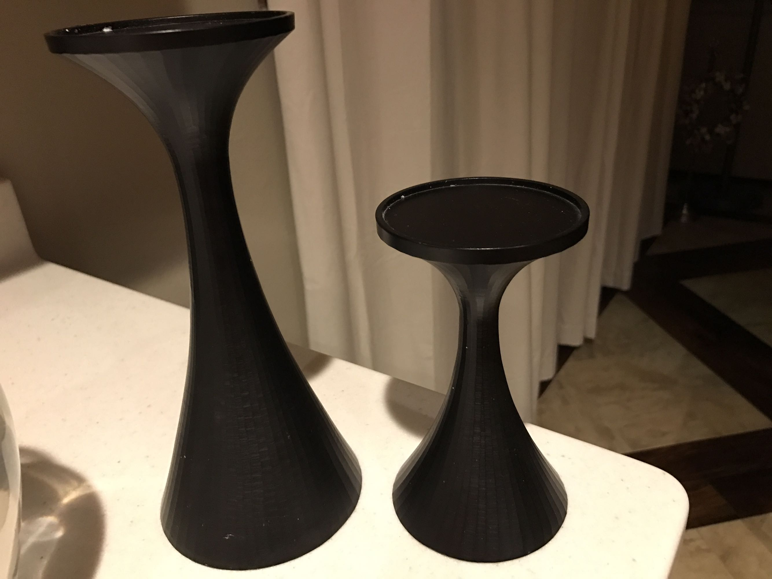 Crate&Barrel candle holders