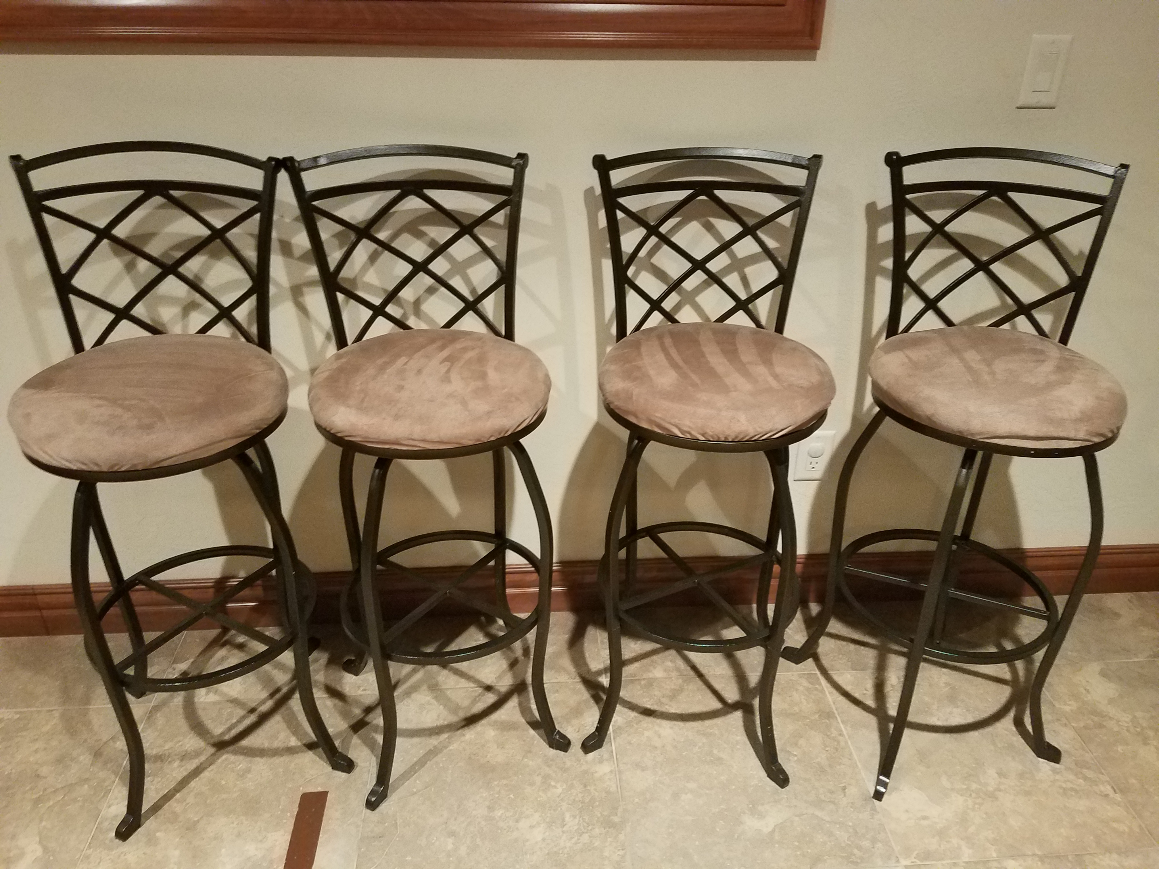 4 bar stools $75 for all